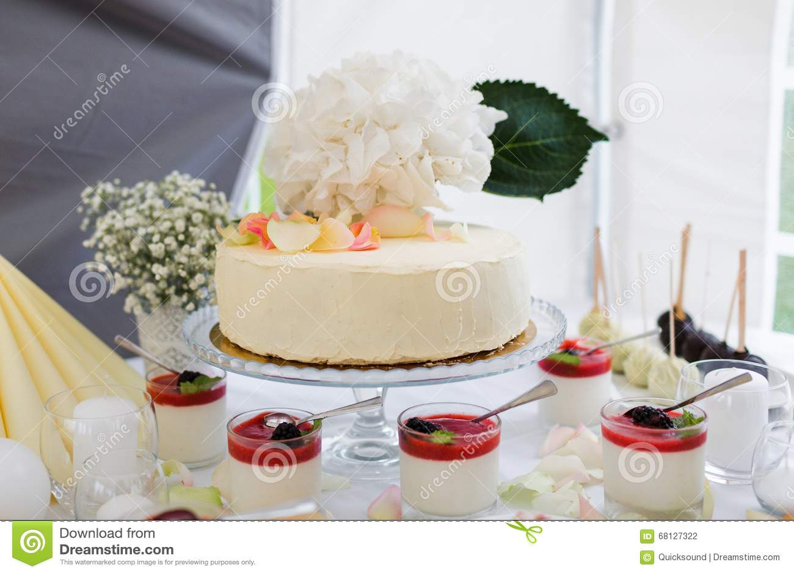 Yogurht deserts stock photo. Image of arrangement, sauce - 68127322
