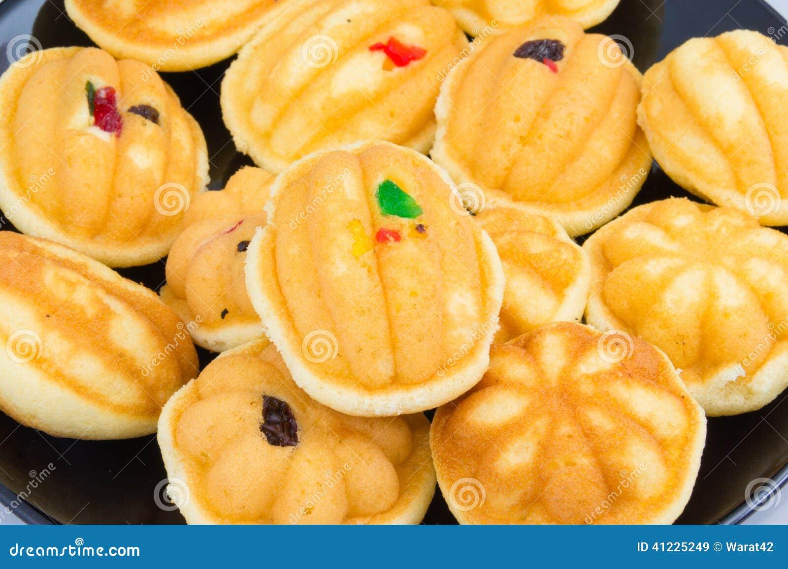 Dessert tha 239 raisin sec de g 226 teau d oeufs photo stock image
