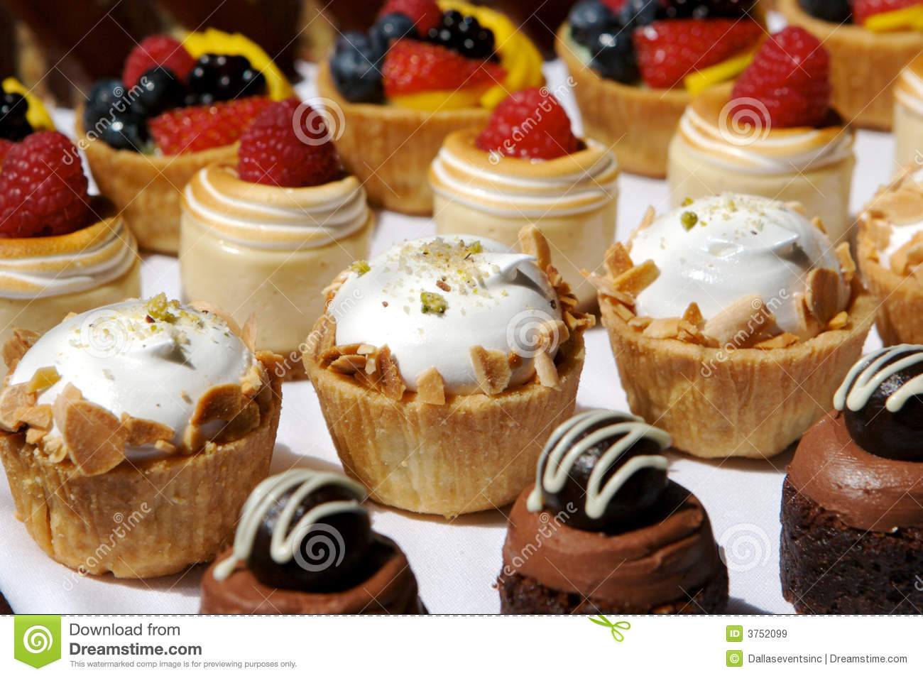 Dessert Tray Assorted Royalty Free Stock Images Image