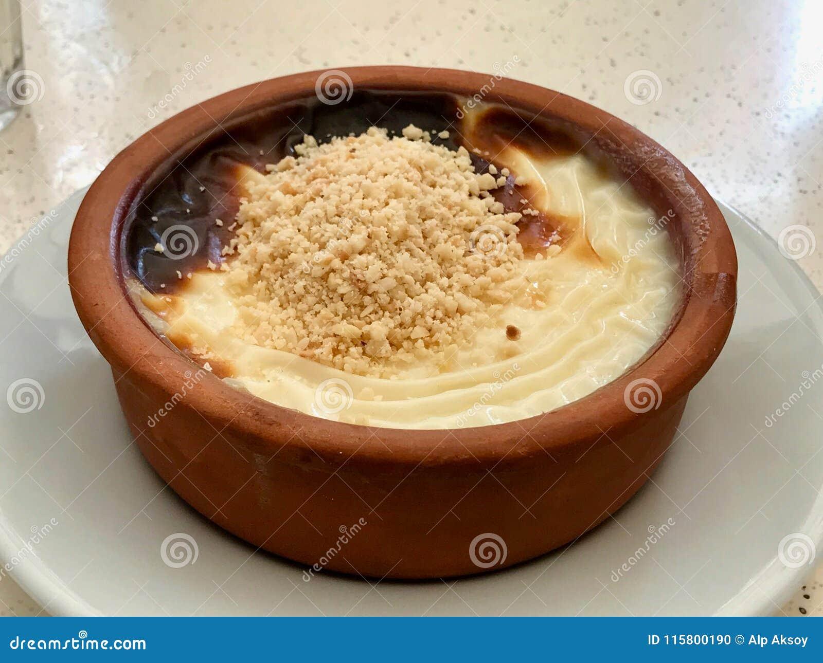 Dessert turco Sutlac/budino di riso