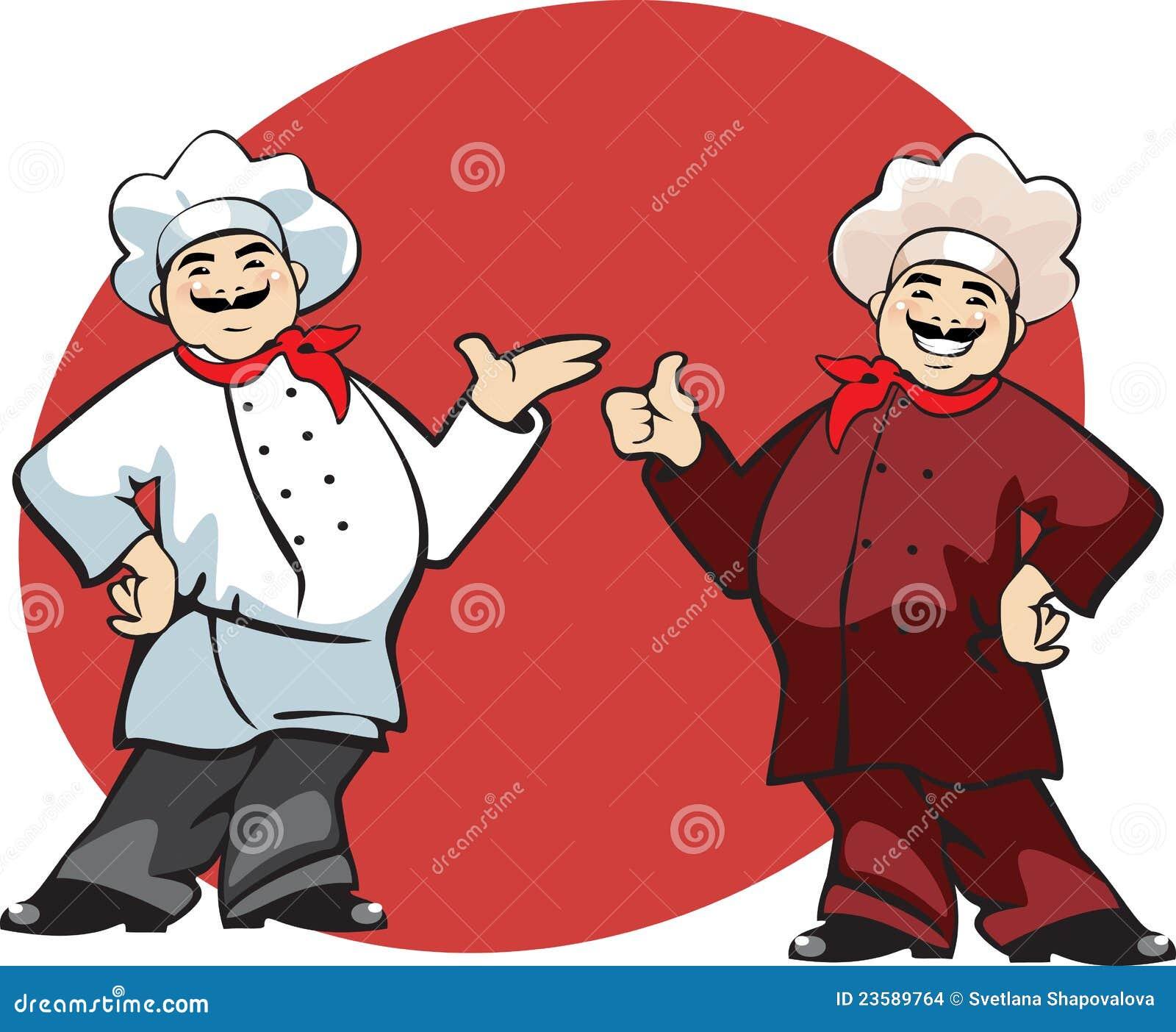 dessin anim de cuisinier - Dessin Cuisinier