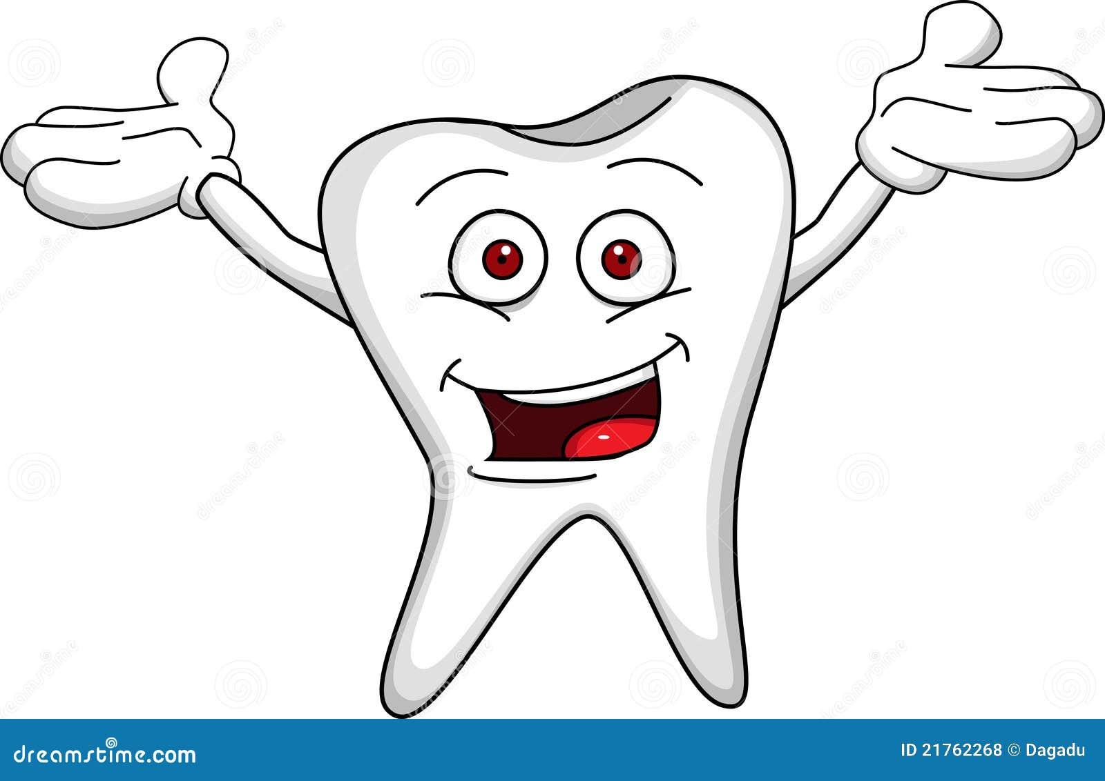 Photos libres de droits tooth cartoon image 21762268 - Dessin de dent ...