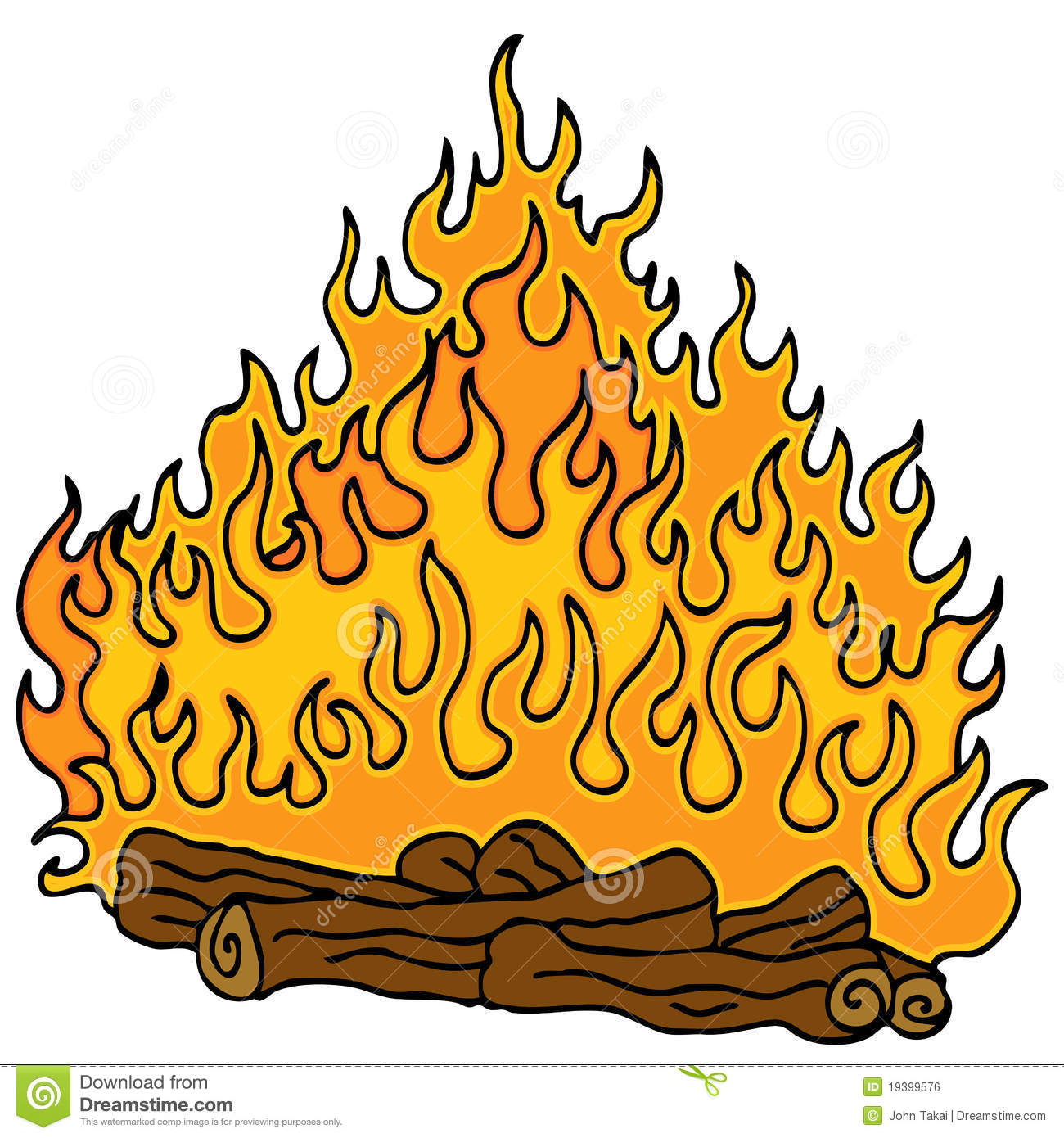 dessin anim de feu de camp illustration de vecteur illustration du clip dessin 19399576. Black Bedroom Furniture Sets. Home Design Ideas