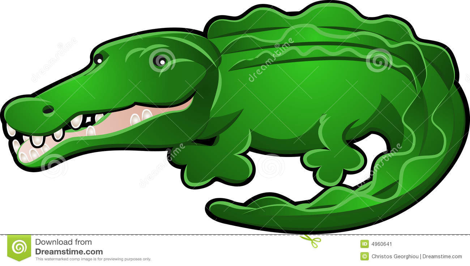 Dessin anim mignon d 39 alligator ou de crocodile illustration de vecteur illustration du - Dessin anime crocodile ...