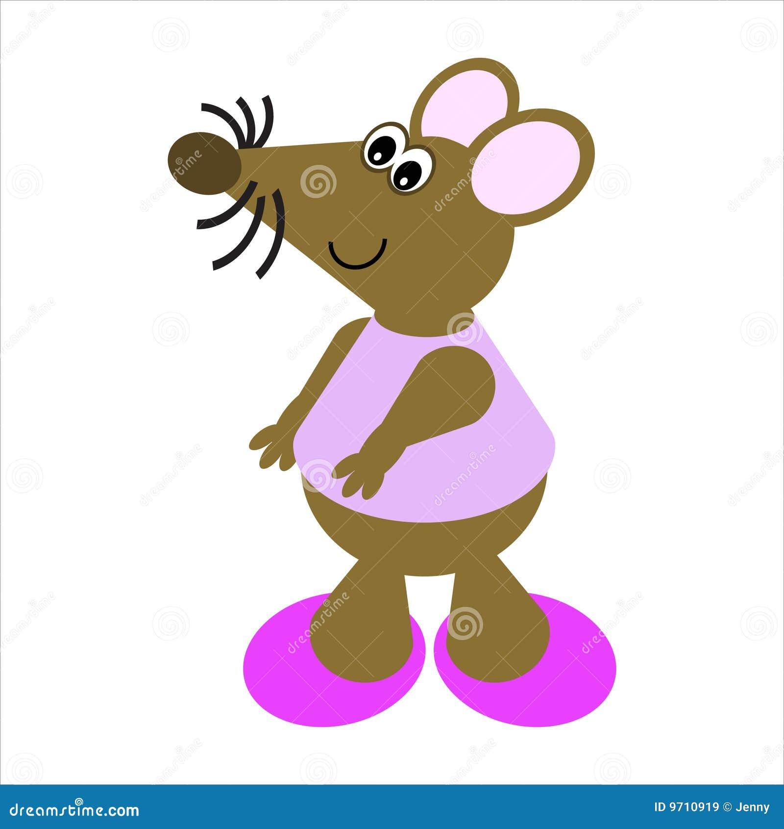 Dessin anim d 39 une souris de danse images libres de droits image 9710919 - Dessin d une coccinelle ...