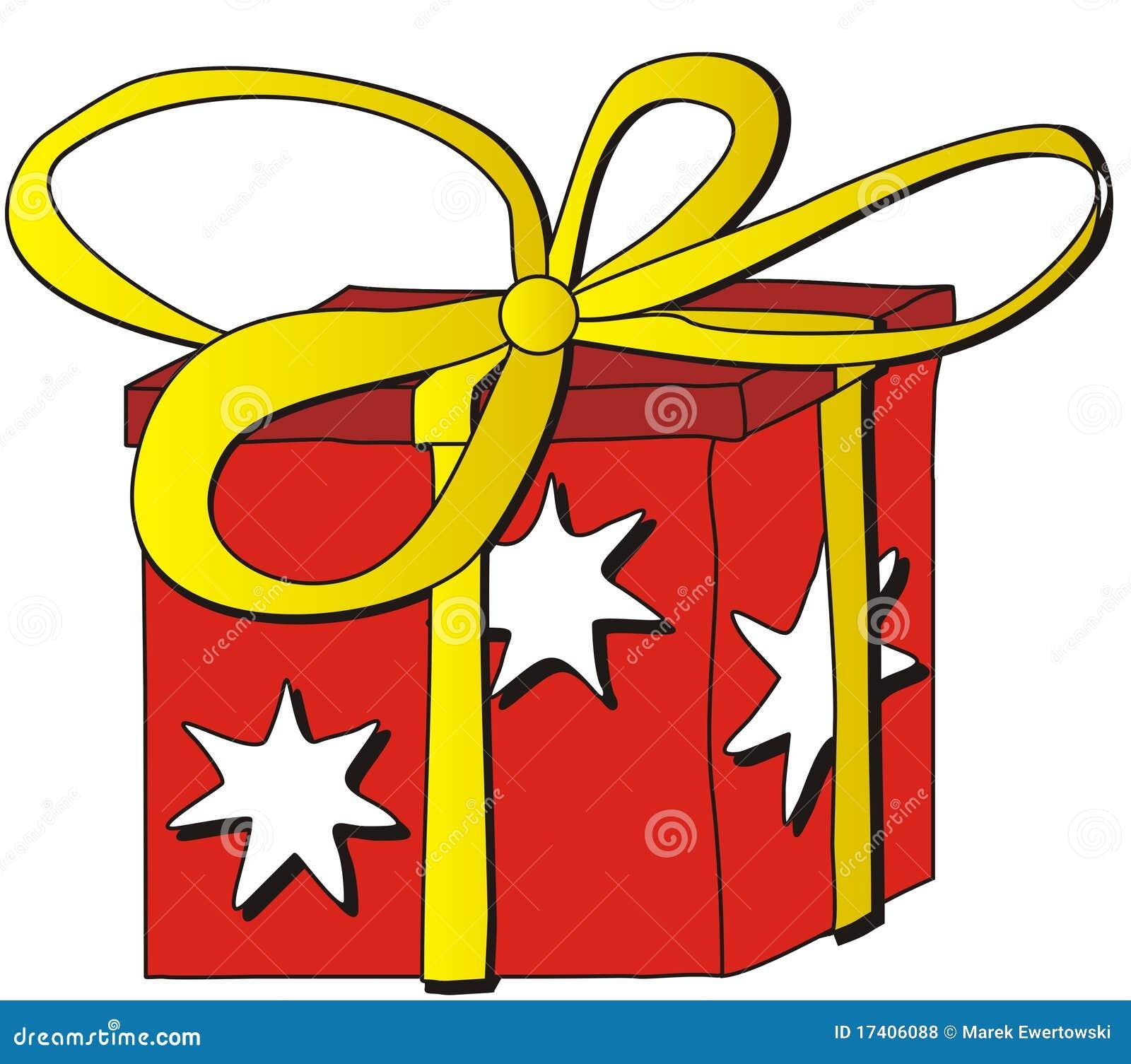 Dessin anim de cadeau photos libres de droits image - Dessins cadeaux ...
