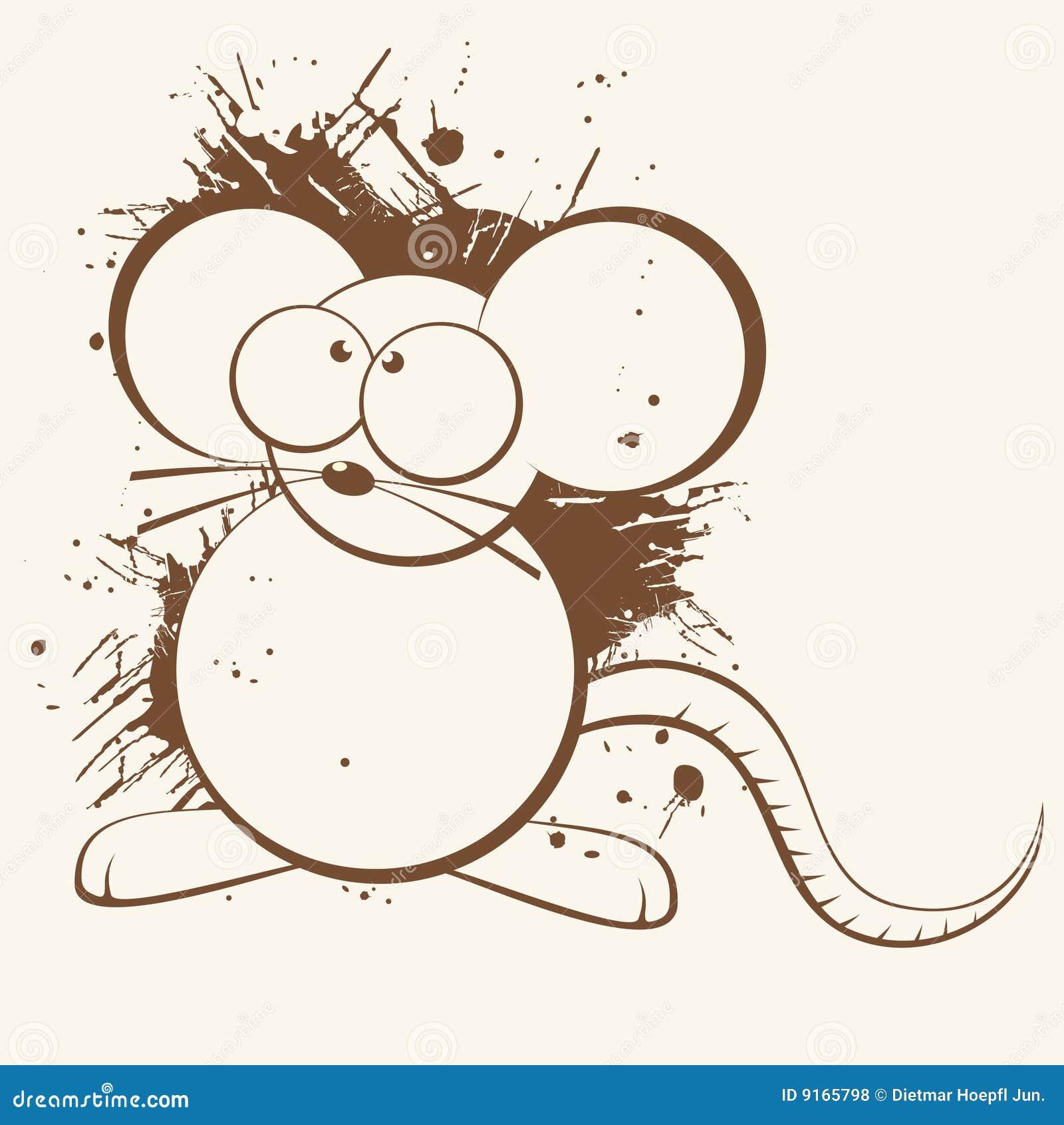Dessin anim de rat photos libres de droits image 9165798 - Dessin d un rat ...