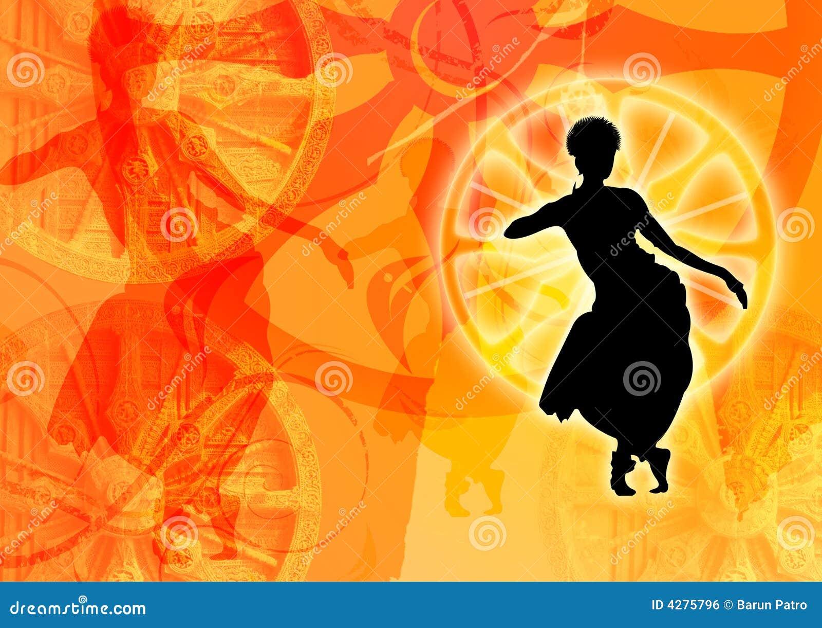 Dessin coloré de danse