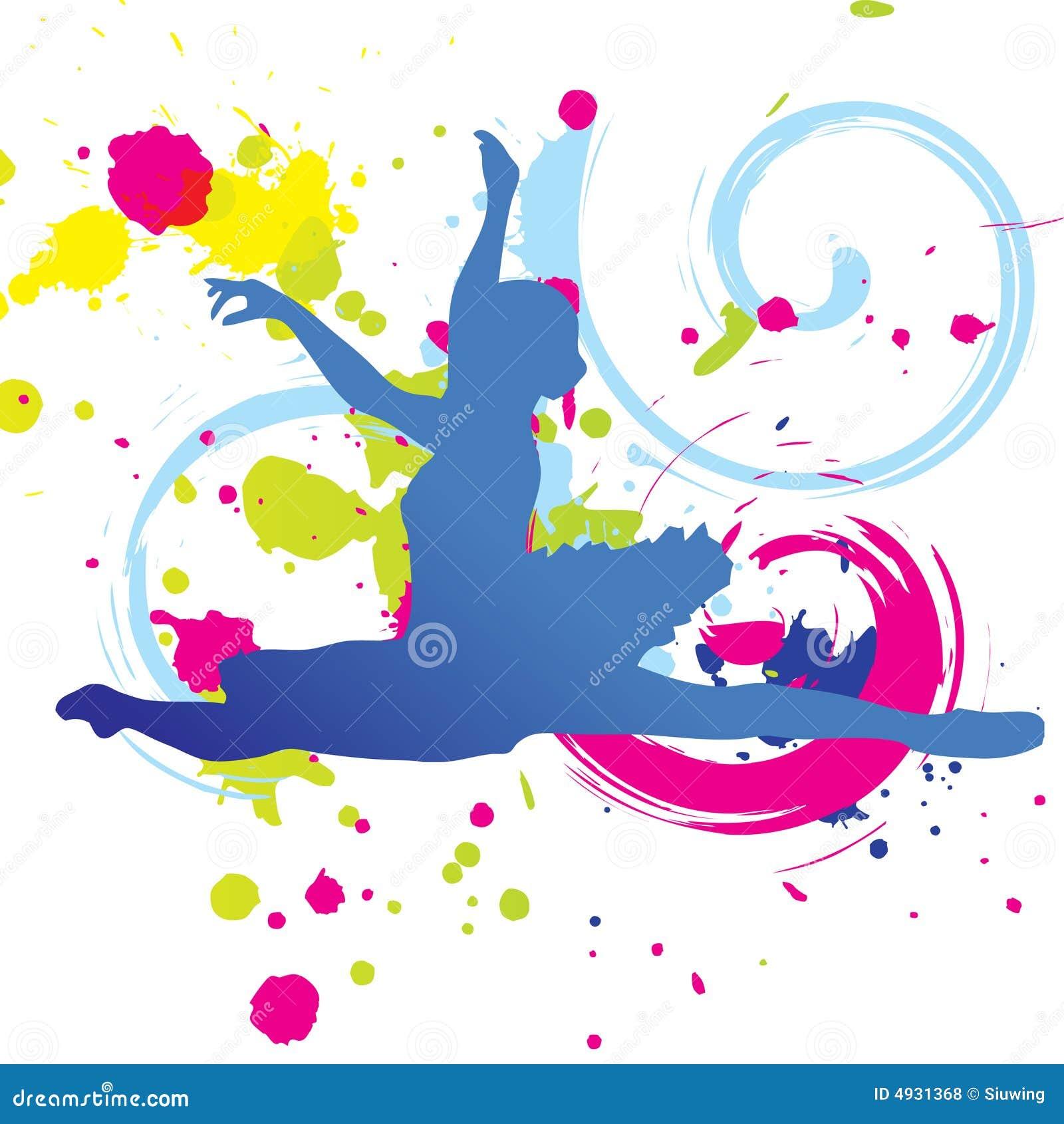 Dessin color de danse photos libres de droits image - Dessin colore ...