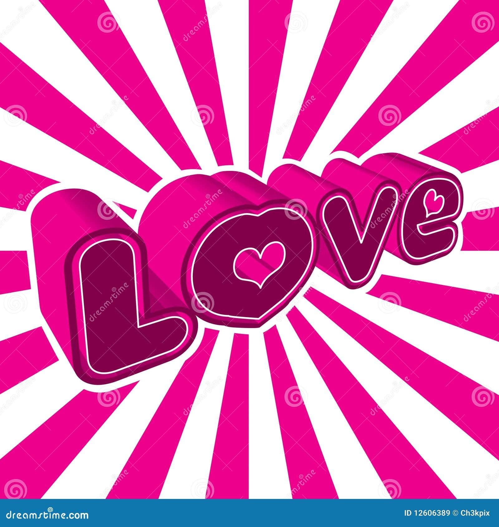 Dessin d 39 amour illustration de vecteur illustration du logo 12606389 - Image dessin amour ...