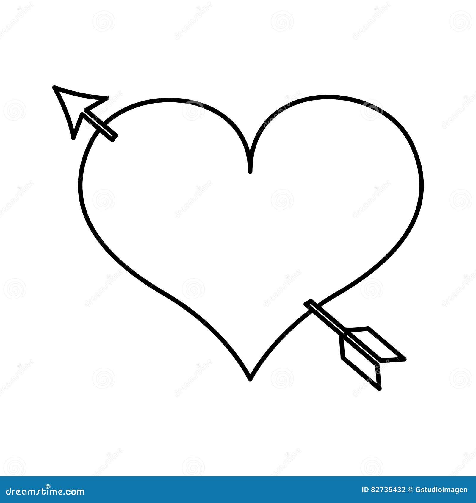 Dessin Rencontre Coeur Amour
