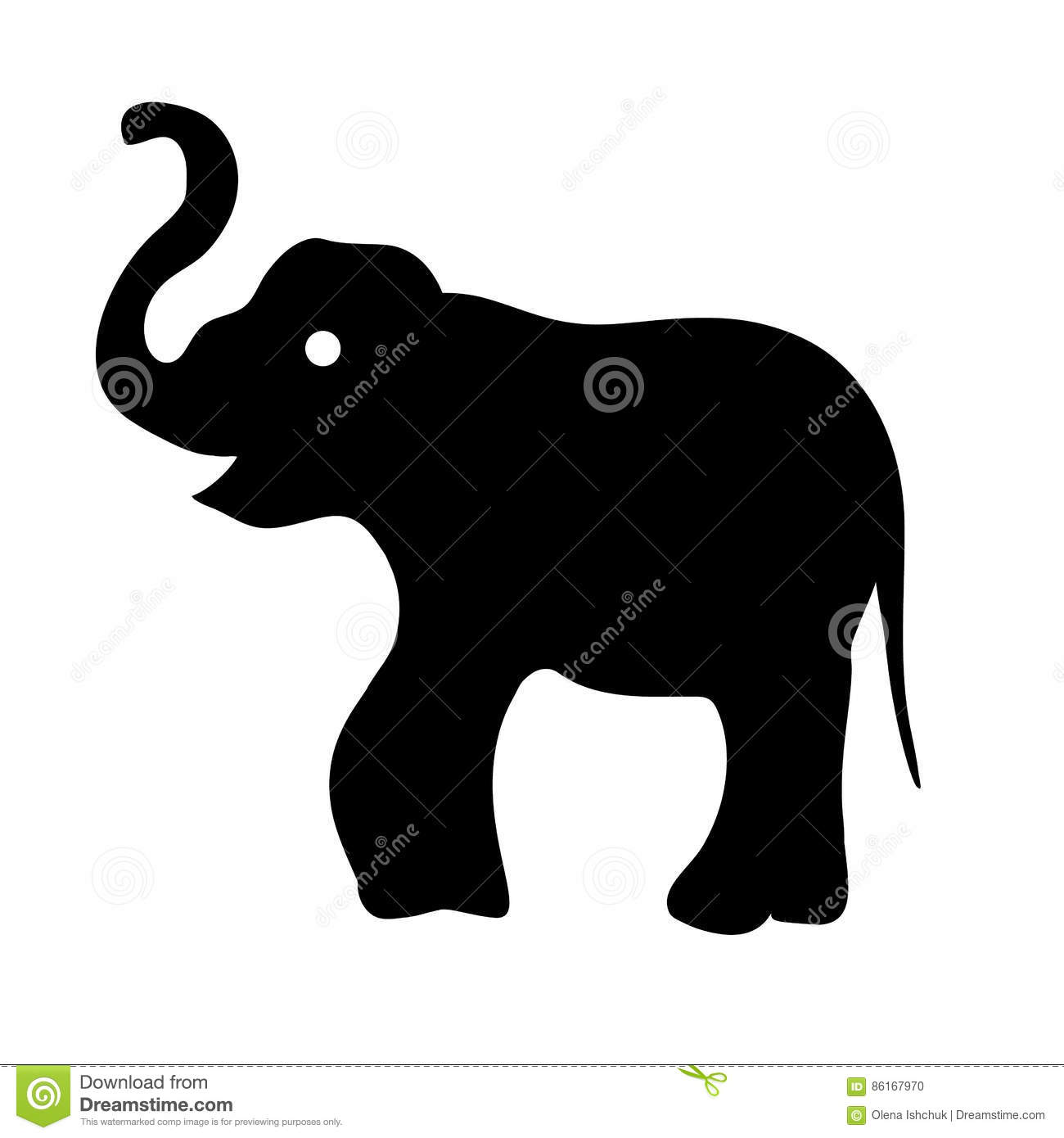 Dessin d 39 ensemble d 39 un noir d 39 l phant illustration de vecteur illustration du mignon - Dessin d un elephant ...