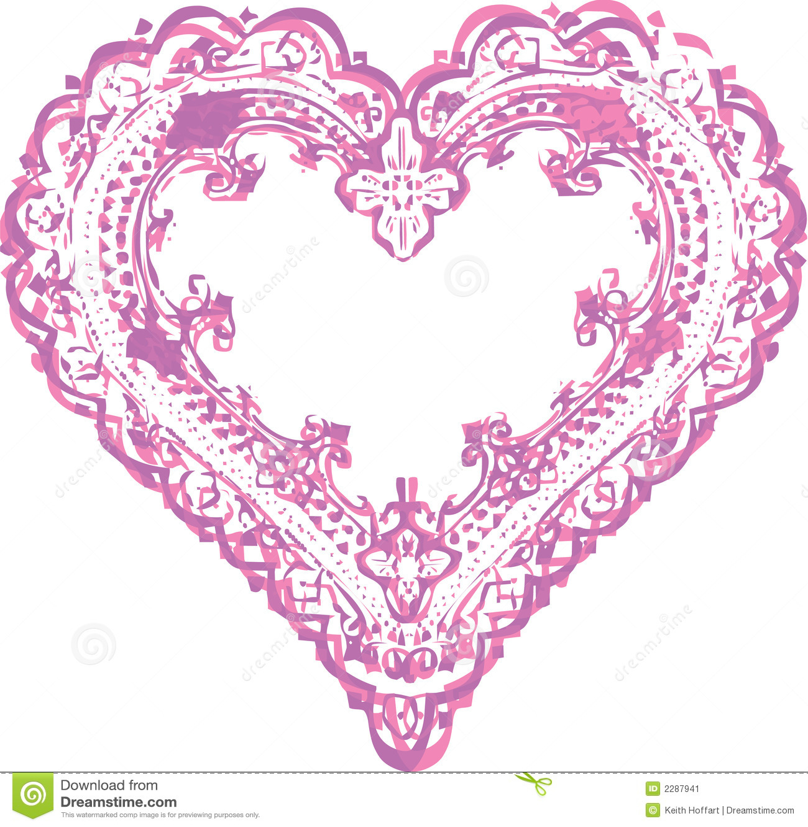 Dessin de conception de forme de coeur image stock image 2287941 - Dessin en forme de coeur ...