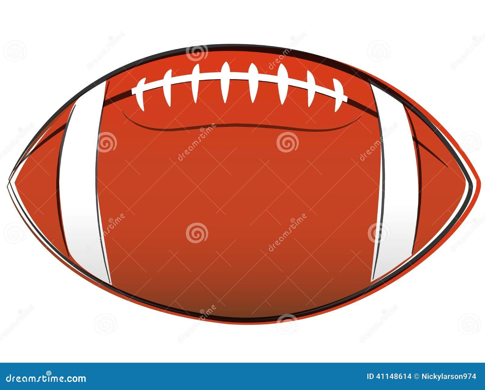 Dessin de football am ricain illustration de vecteur - Dessin football americain ...