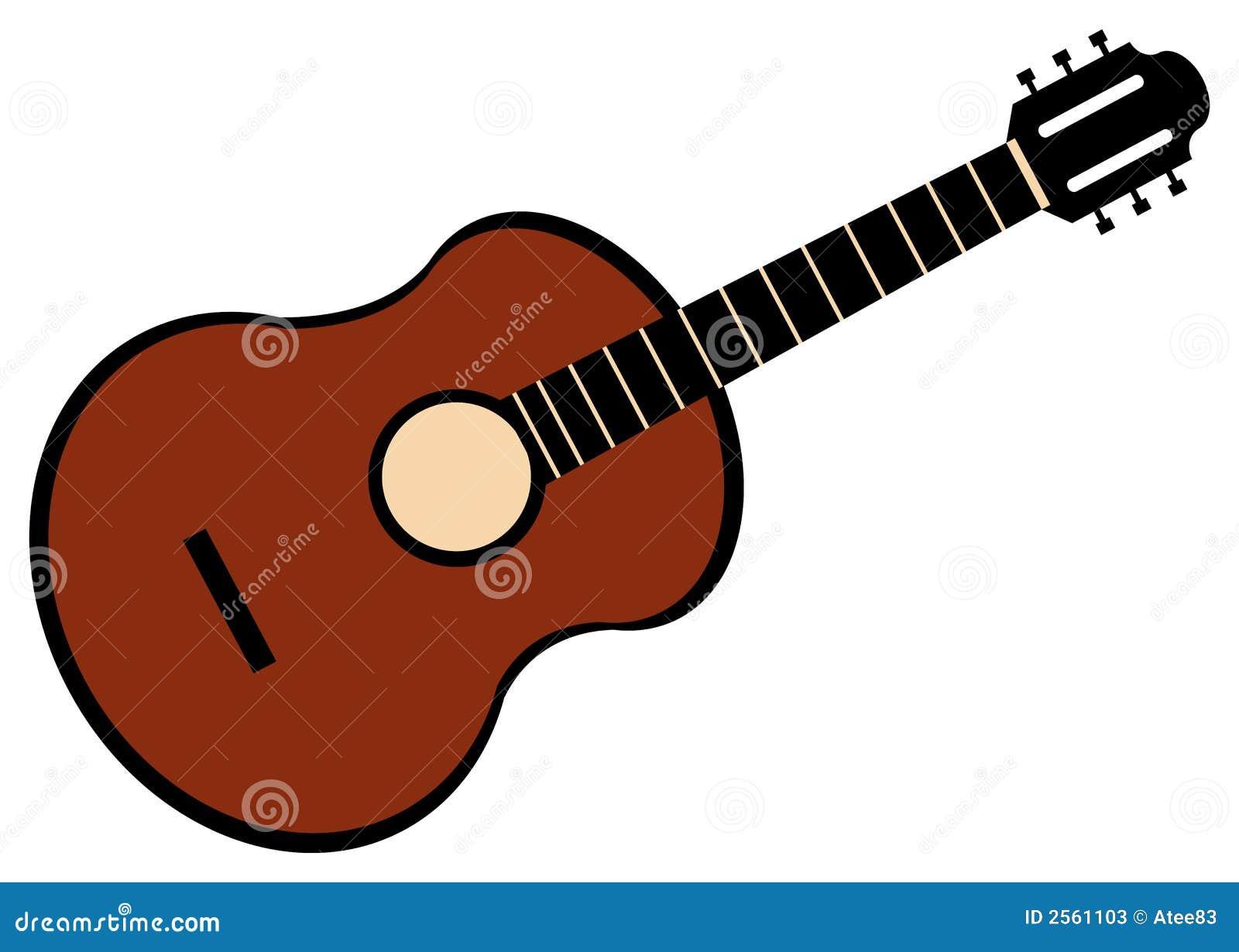 Dessin de guitare illustration de vecteur image du musical 2561103 - Comment dessiner une guitare ...