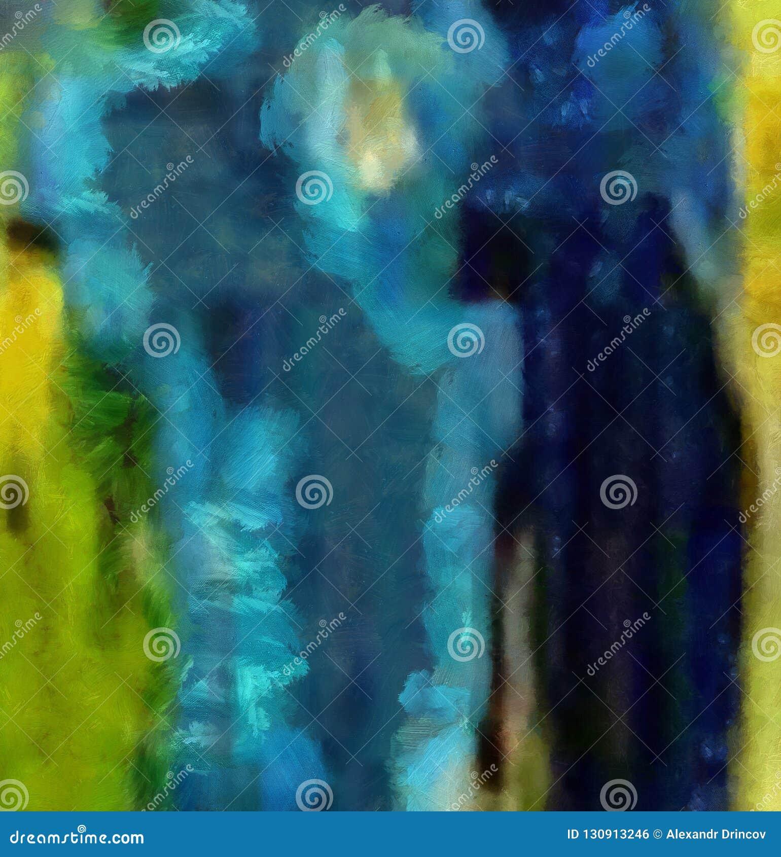 Dessin de main dans l abstraction d huile Fond grunge de texture Modèle de conception de cru Papier peint créateur Art mélangé d
