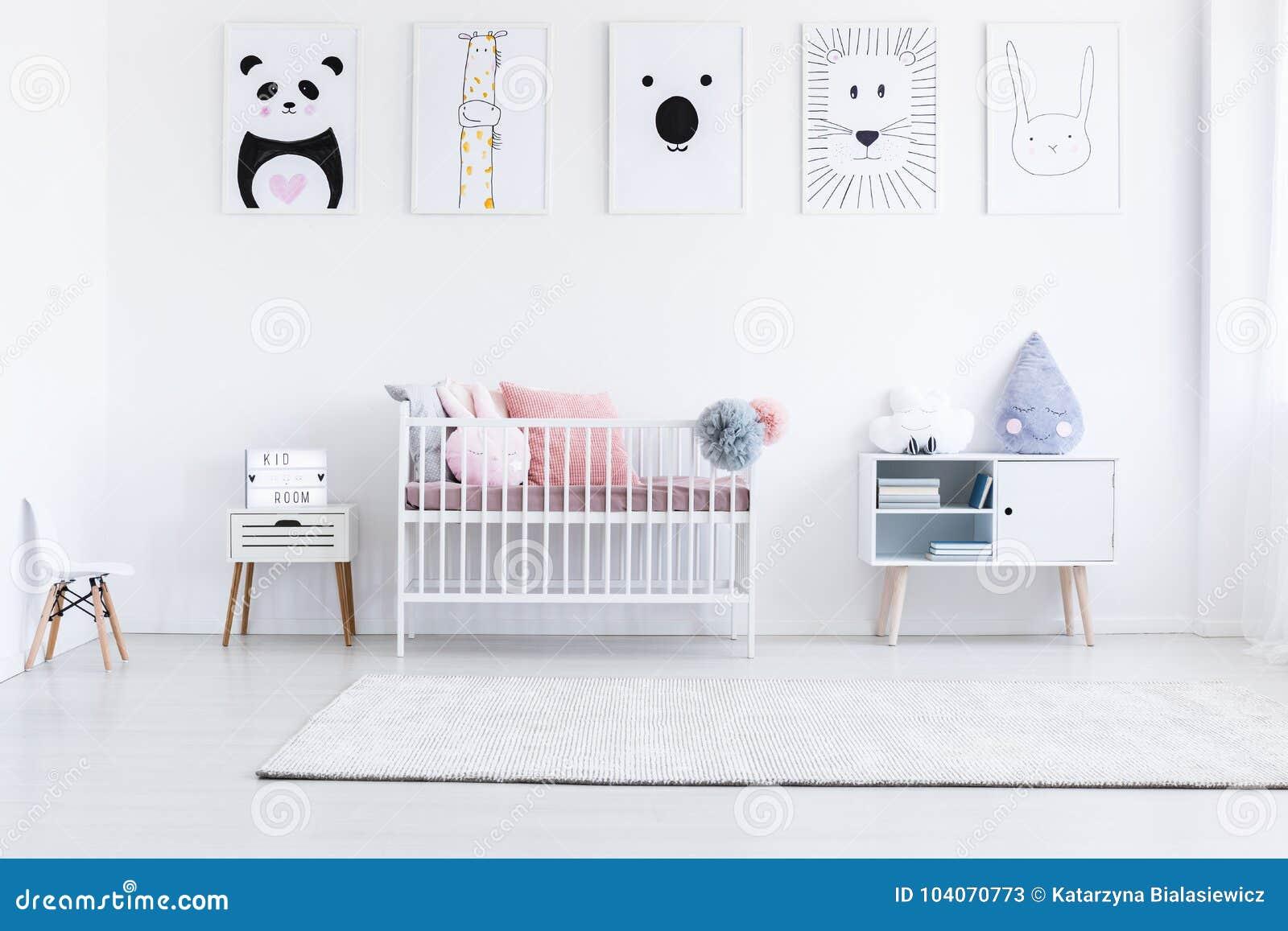 Dessin De Tigre Dans La Chambre A Coucher Du S De Fille Image Stock Image Du Tigre Fille 104070773