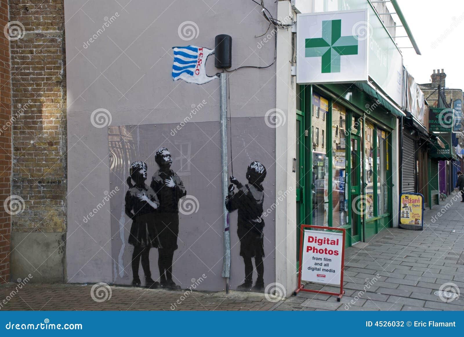Dessin-modèle neuf de Banksy