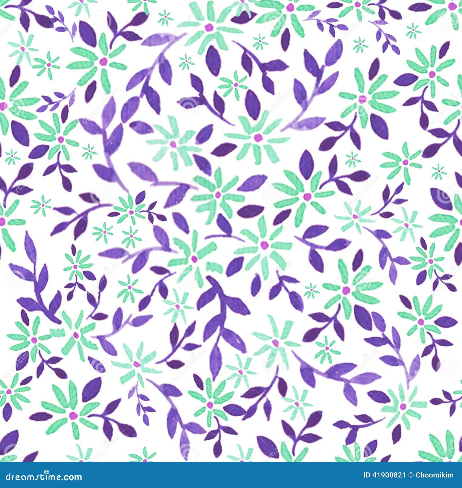 Dessin Simple De Fleur D Aquarelle Illustration Stock