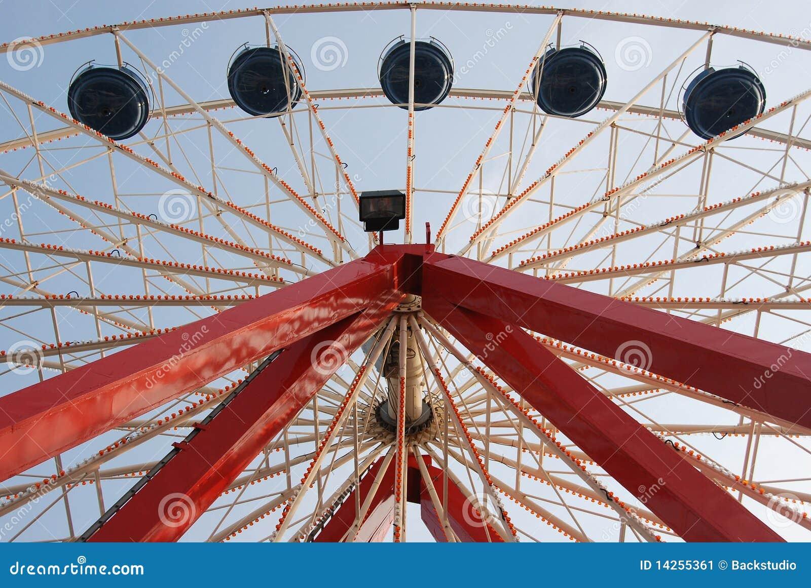 Dessus de roue de Ferris