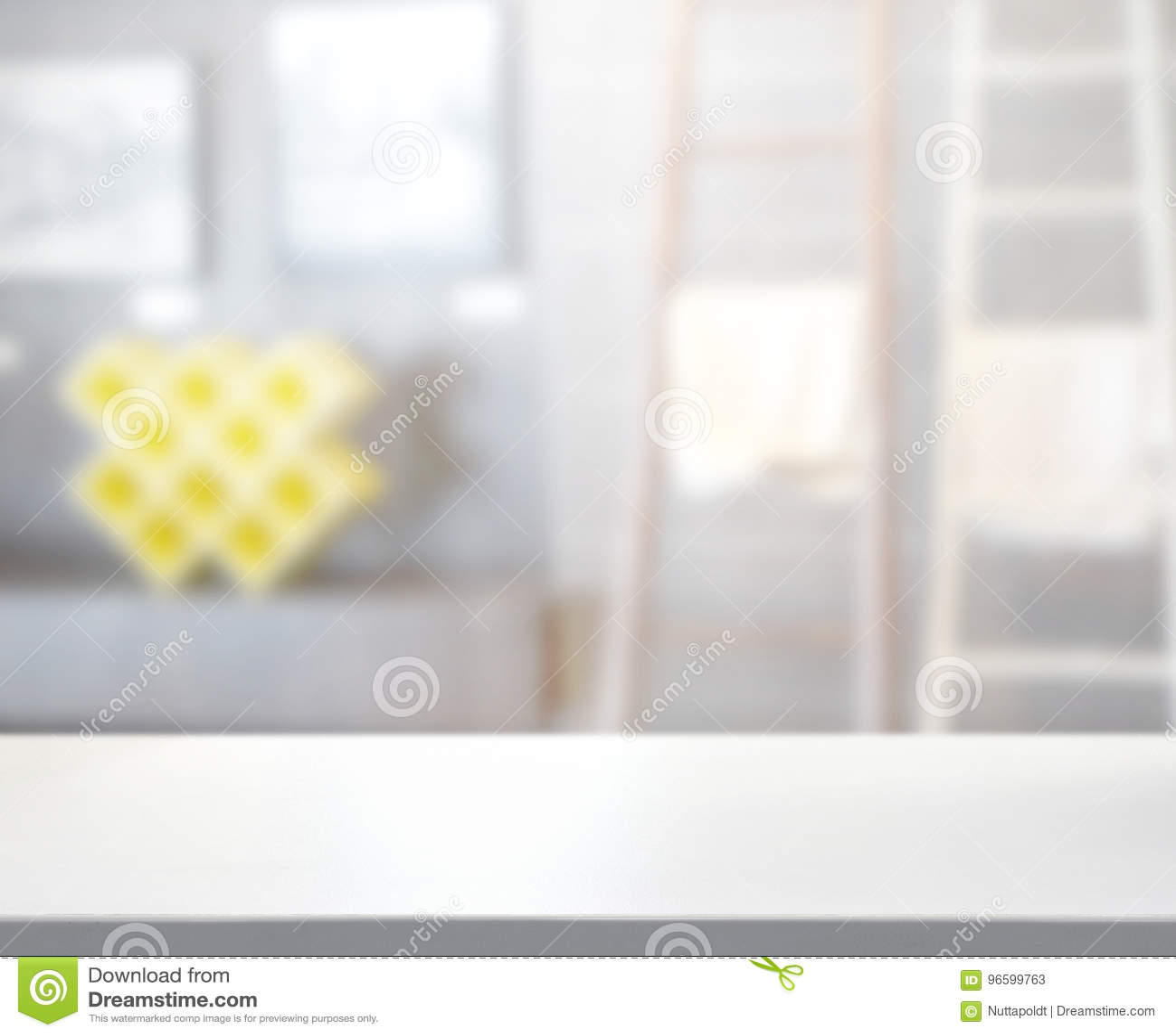 Tableau Salle De Bain dessus de tableau et salle de bains de tache floue de fond
