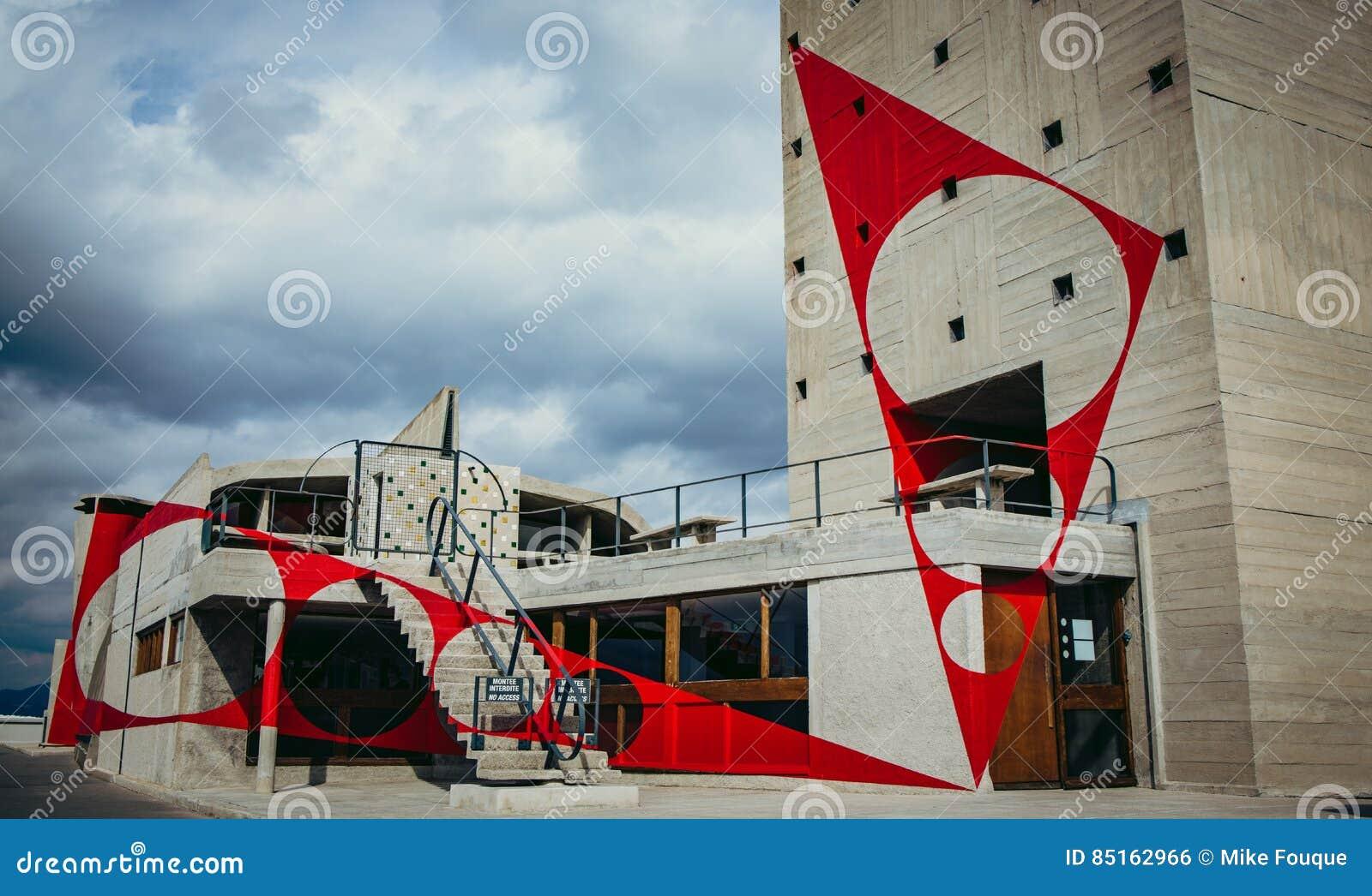 Dessus de toit de Corbusier