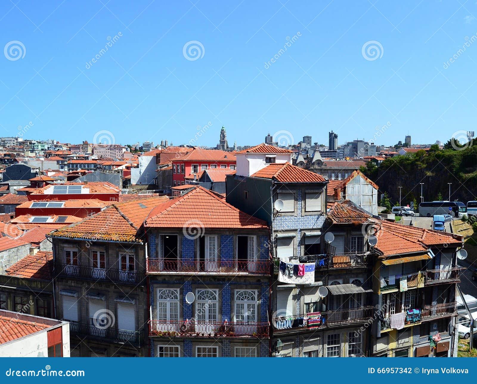 Dessus de toit de Porto