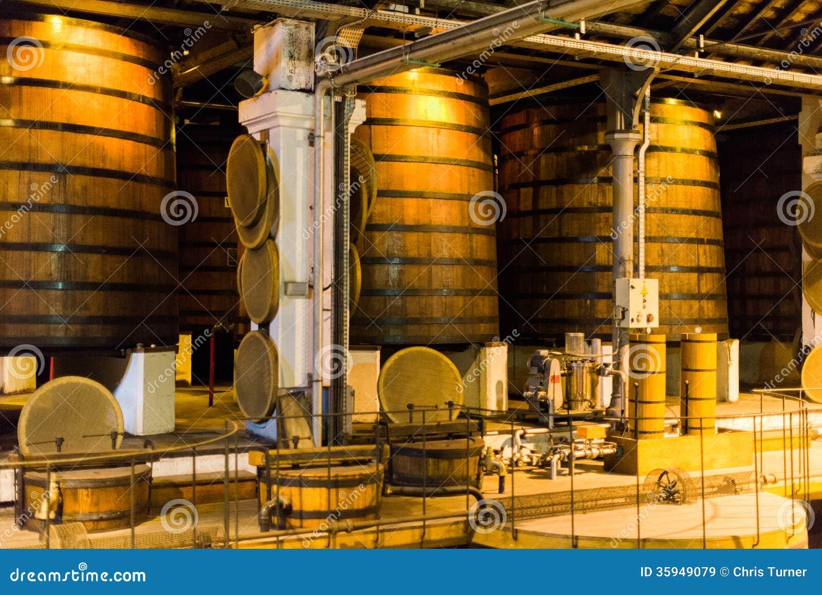 Destilaria do conhaque