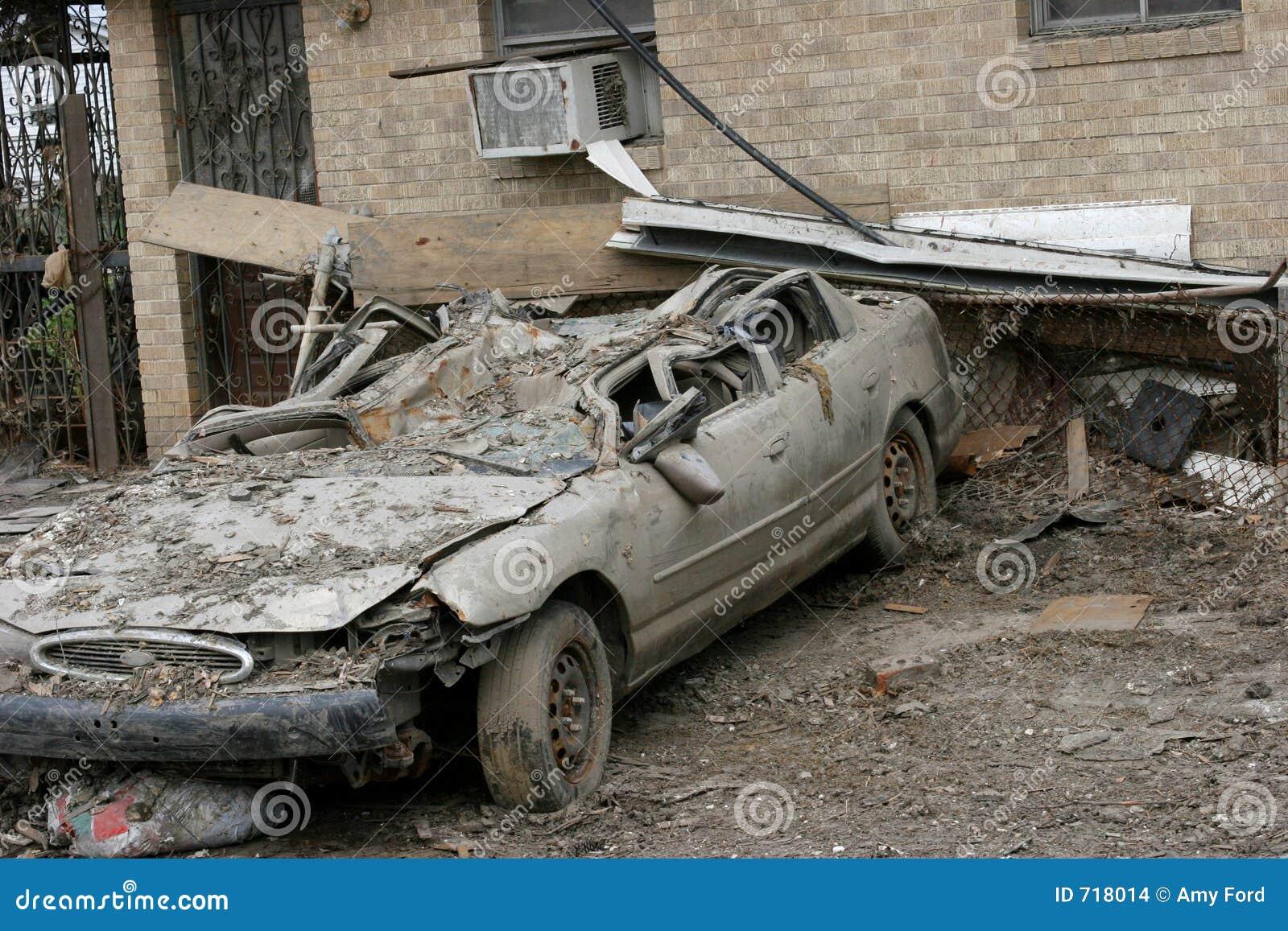 Destruction de Katrina d ouragan