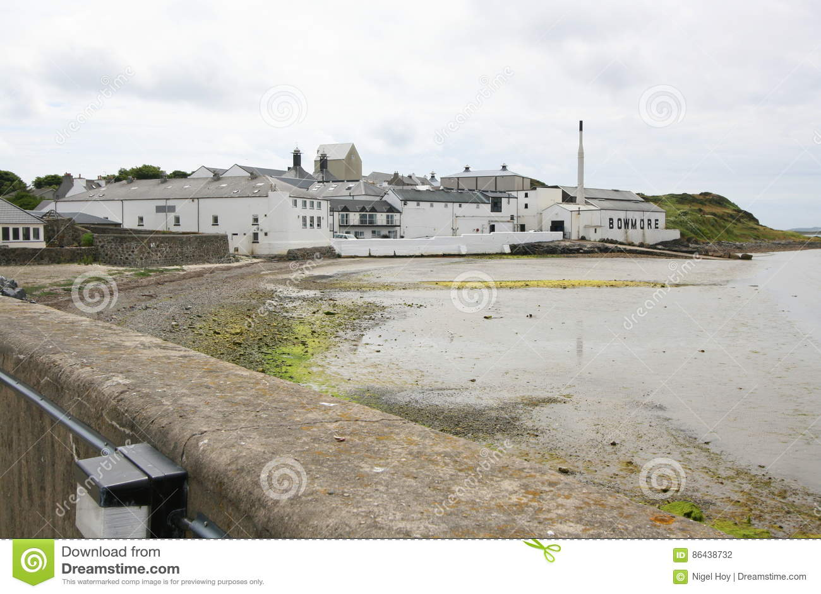 Destylarni Scotland whisky