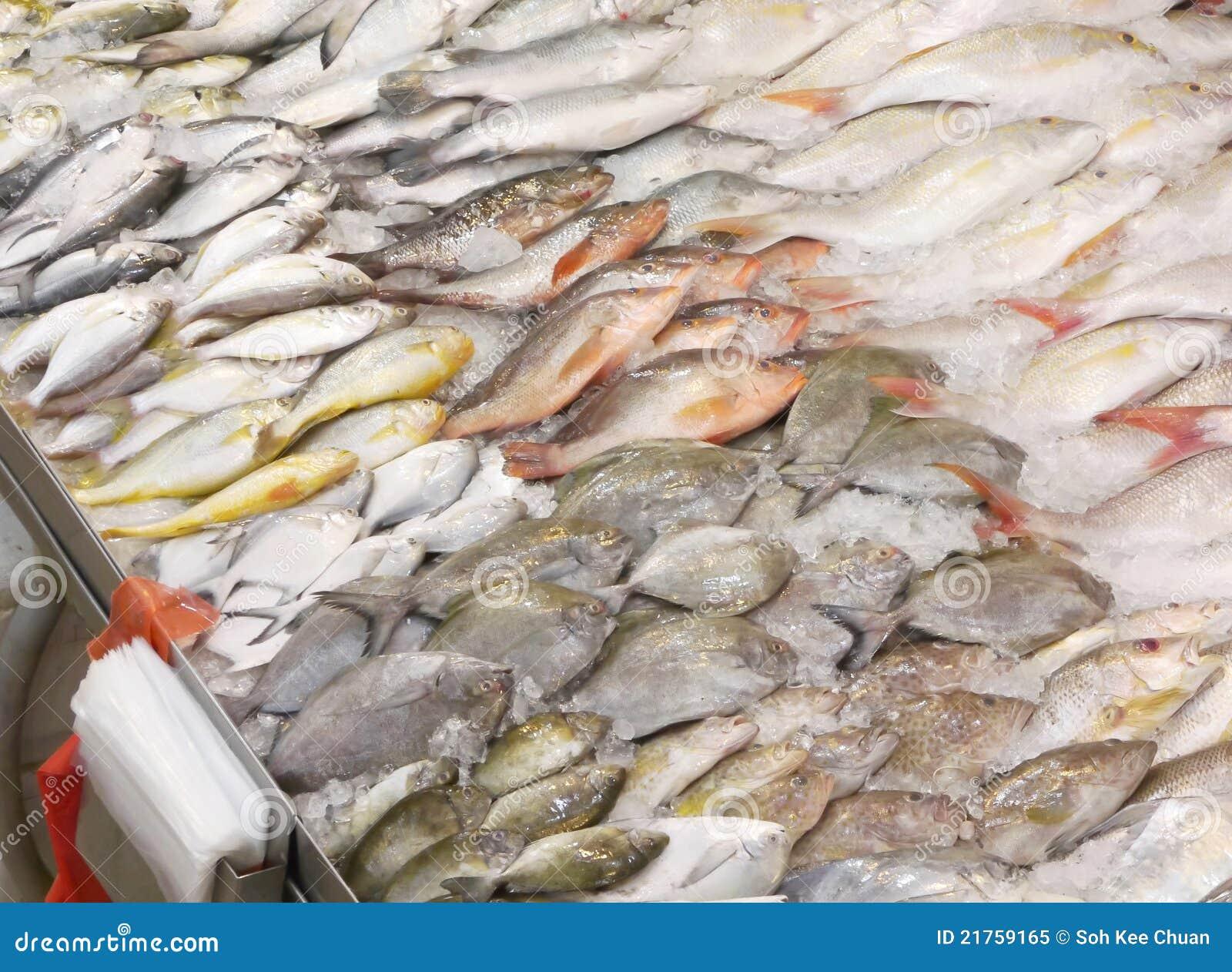 Det blandade valet fiskar den våta marknaden