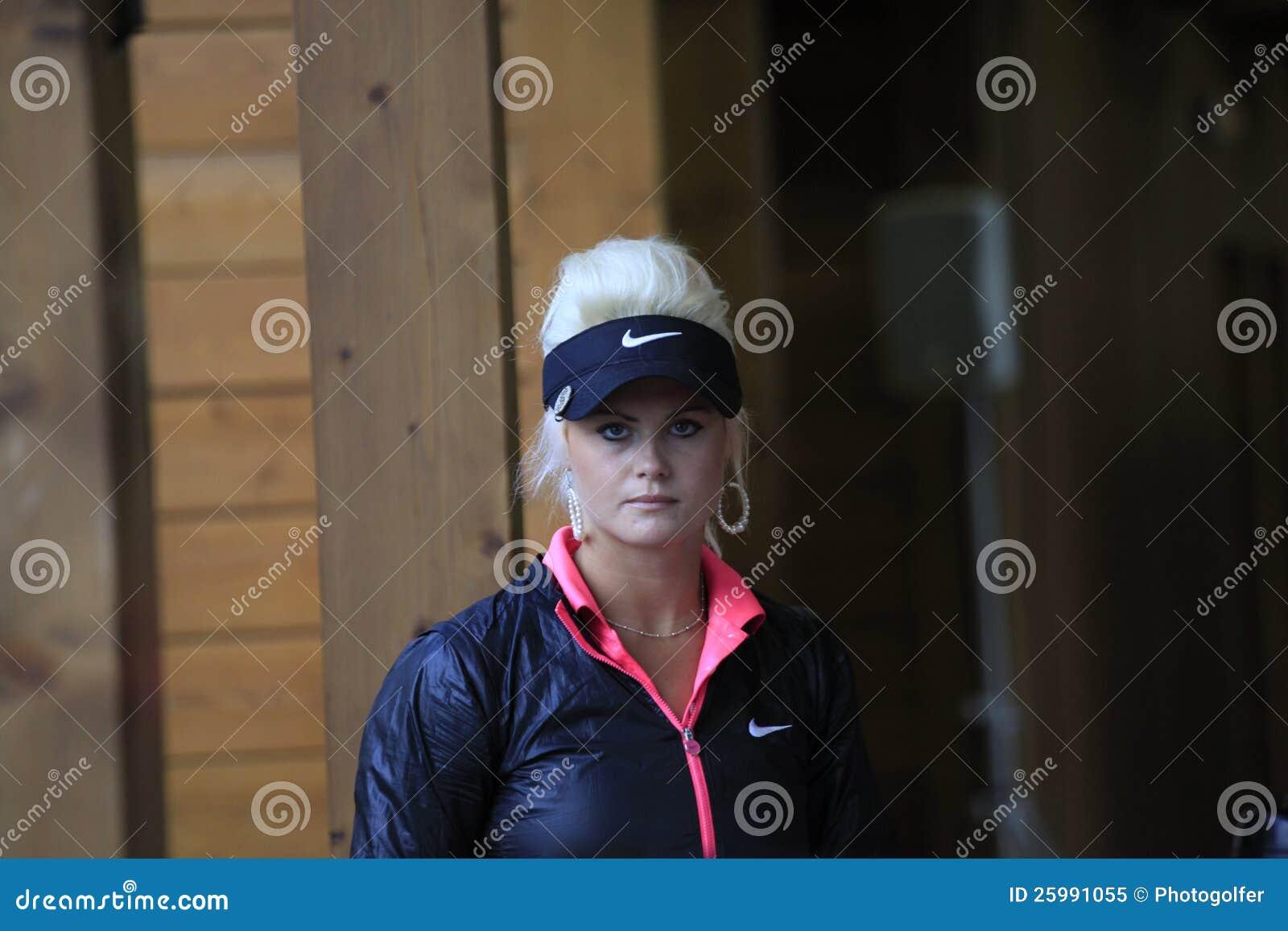 Det Carly båset på golf Evian styrer 2012