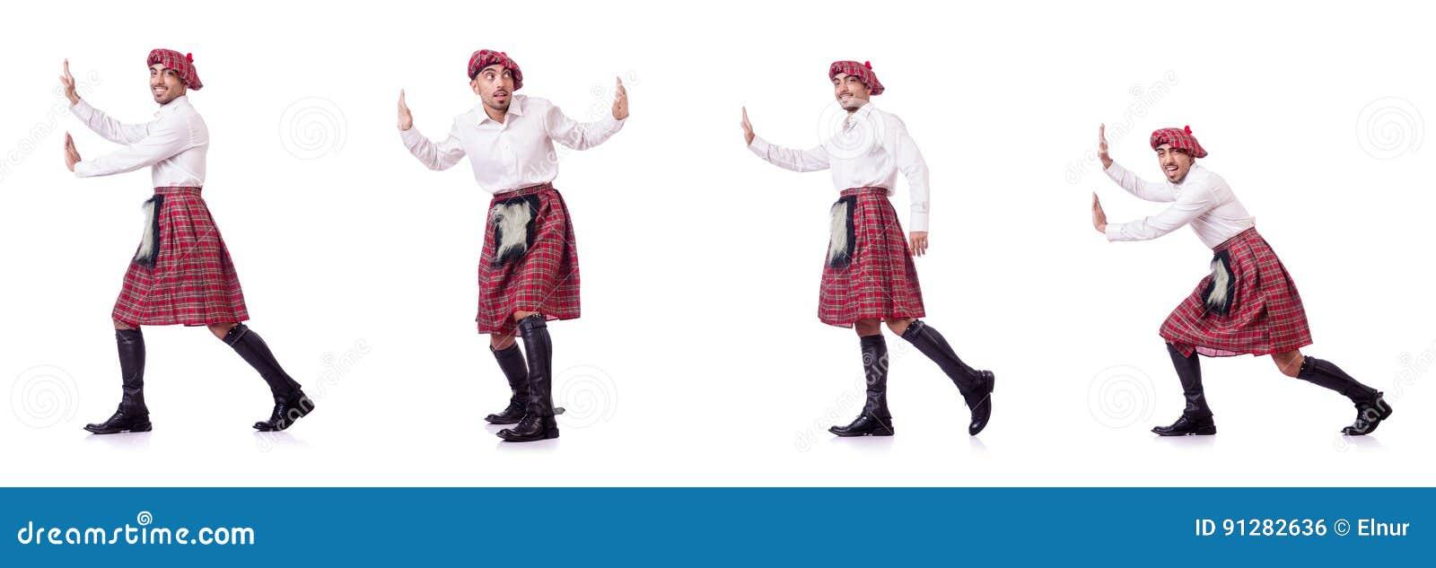 Det driftiga faktiska hindret för skotsk man