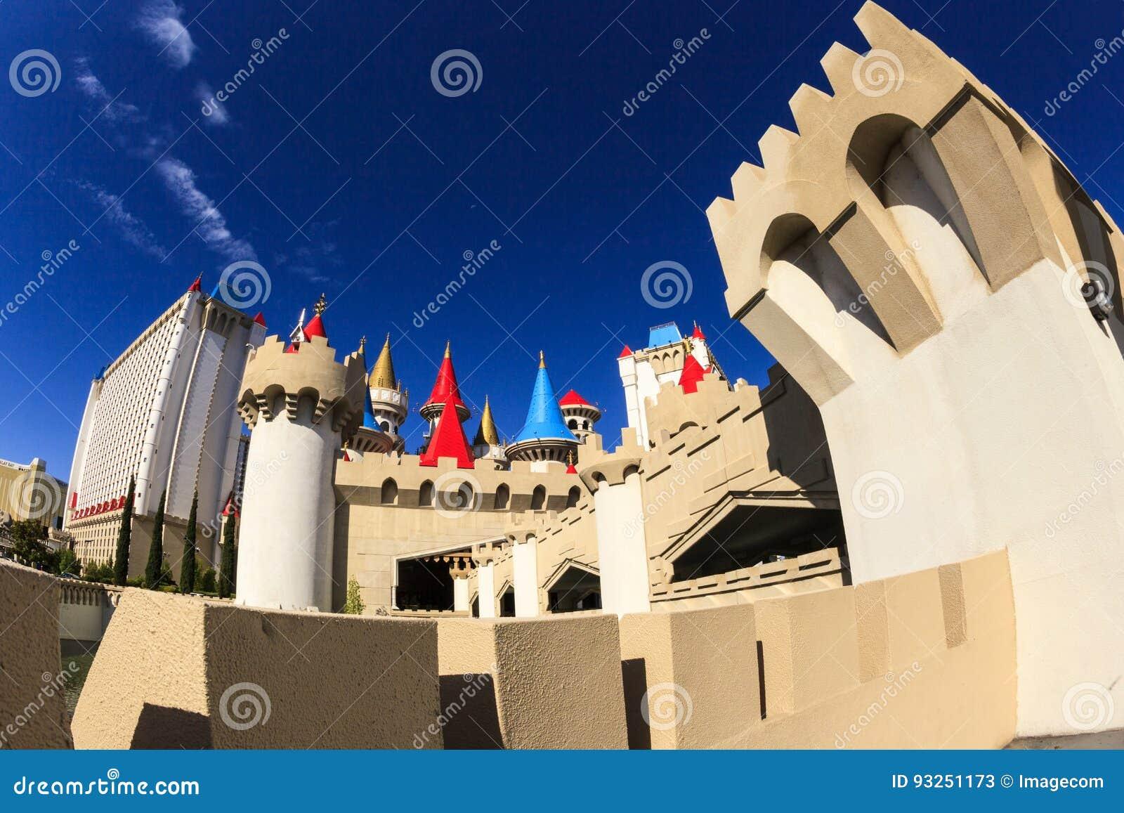 Det Excalibur hotellet och kasinot - Las Vegas