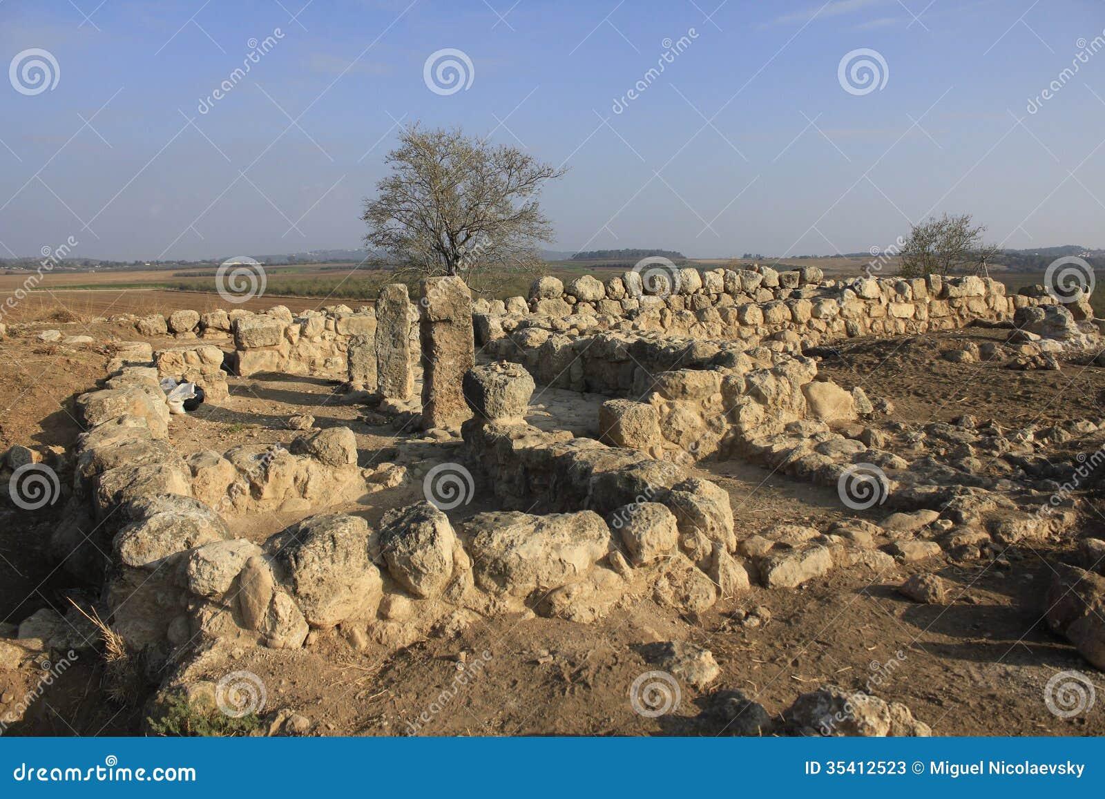 Det forntida fördärvar av Timna av Judea