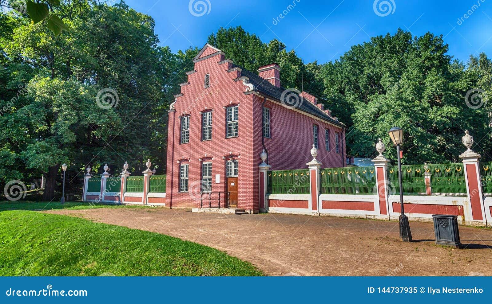 Det holl?ndska huset i det Kuskovo godset