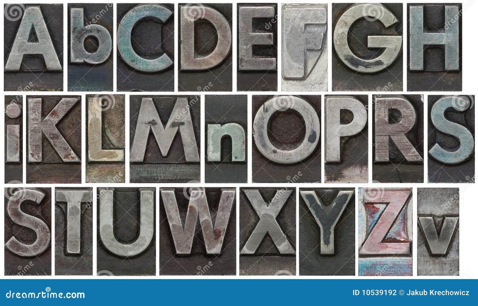 Det isolerade blocket letters white