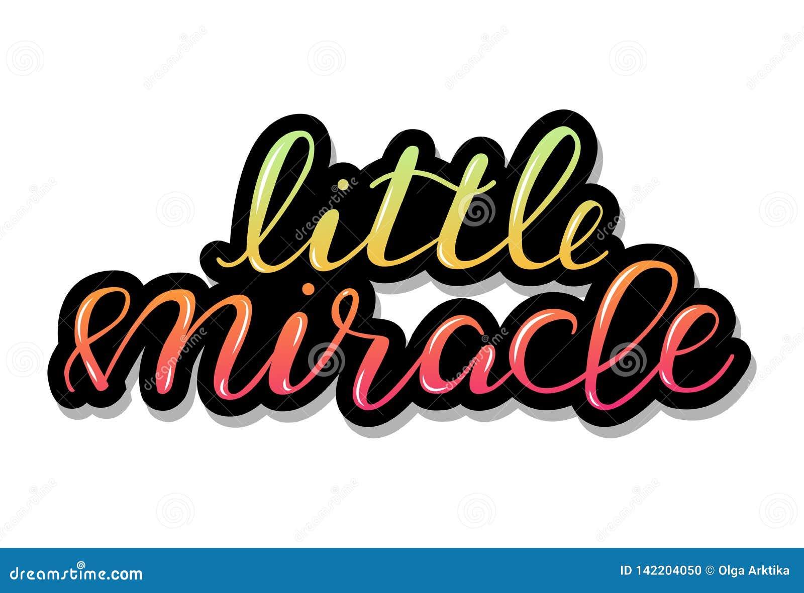 Det lilla miraklet, behandla som ett barn märka citationstecken