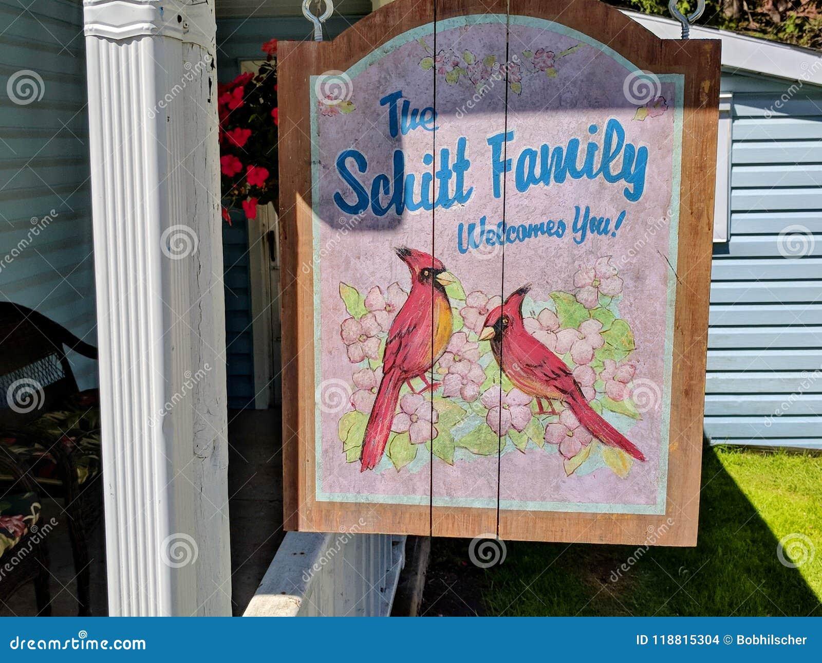 Det Schitt familjhemmet som presenterat i liten vik för Schitt ` s