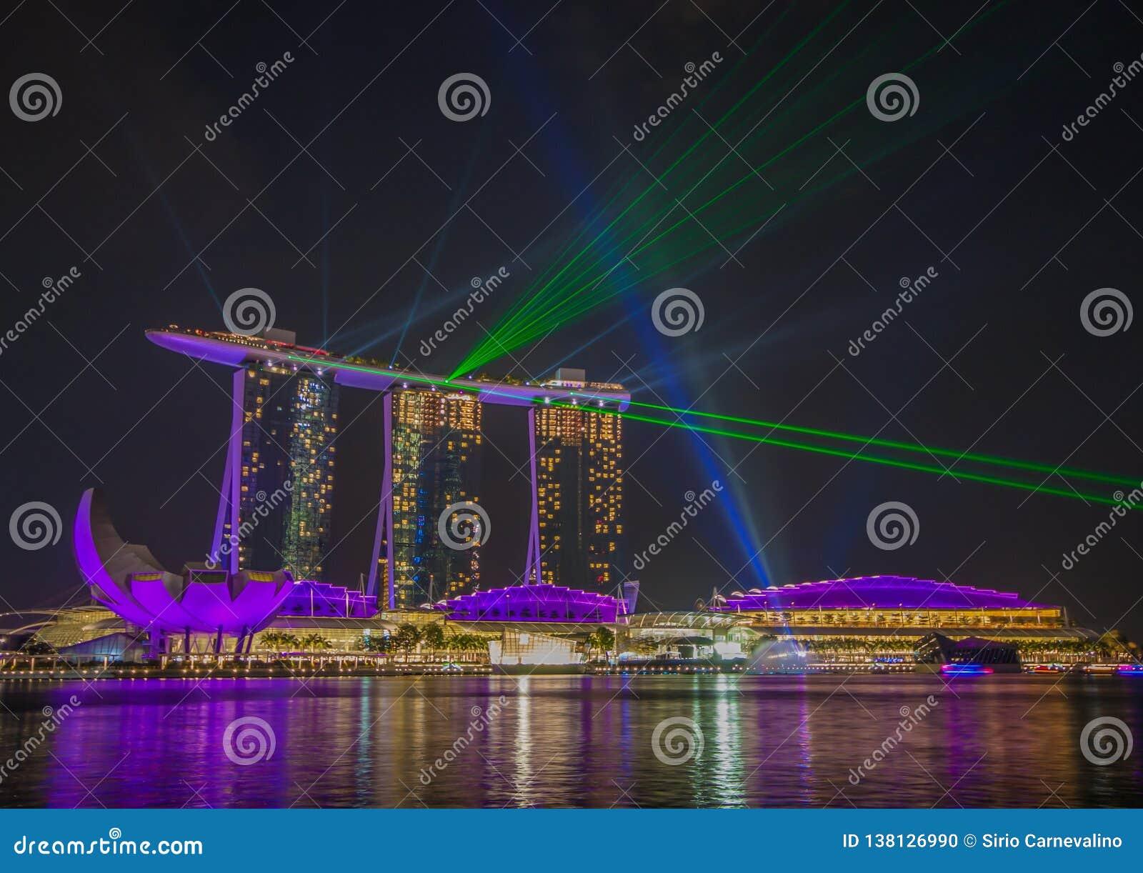 Det underbara Marina Bay Sands hotellet, Singapore