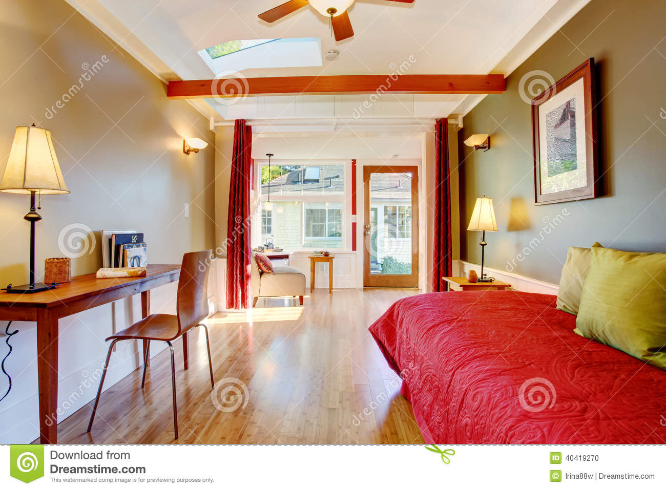 Detached small guest house vacation rental cottage stock photo image 40419270 - Interior for small house ...