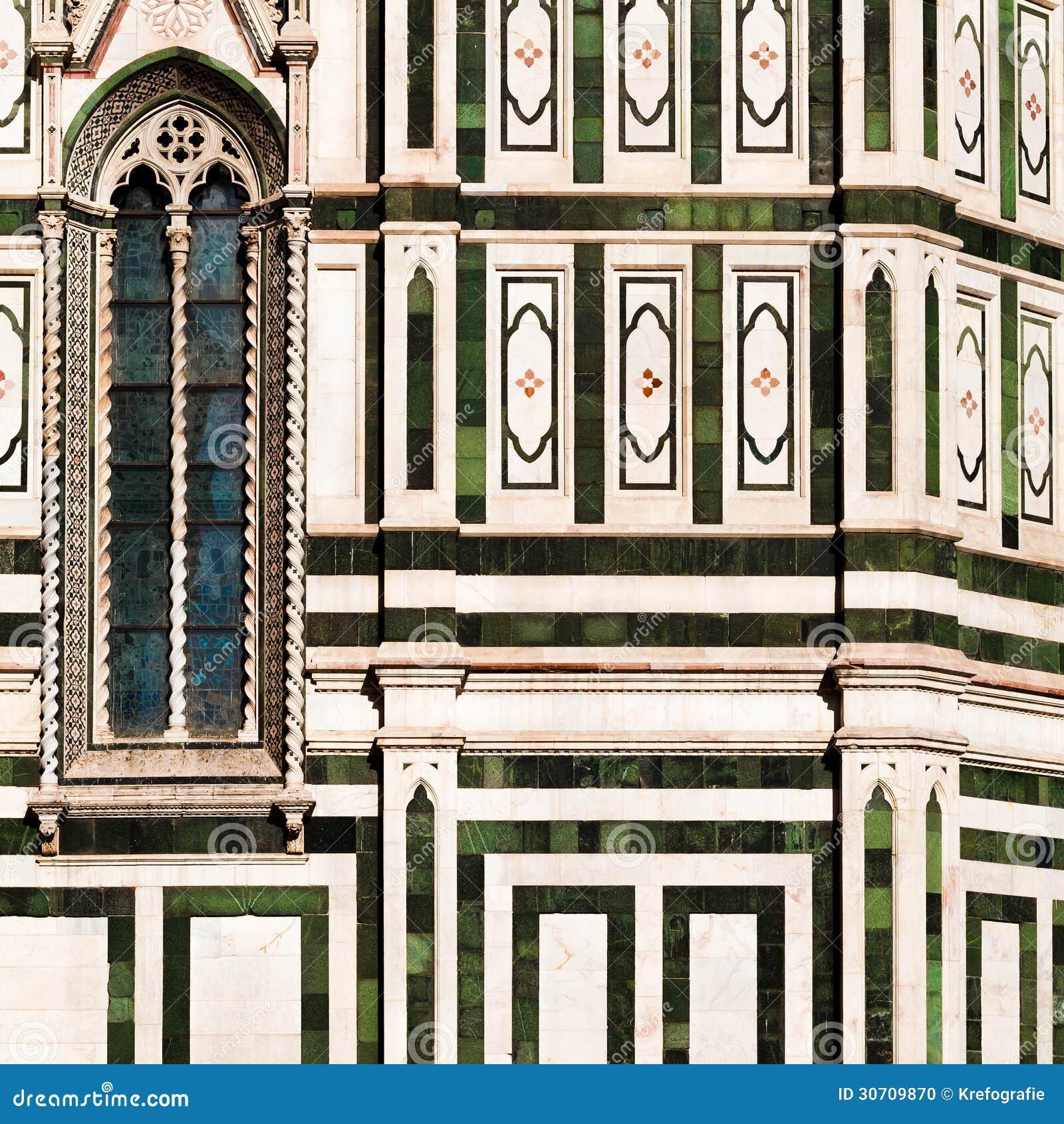 Detail of Basilica di Santa Maria del Fiore