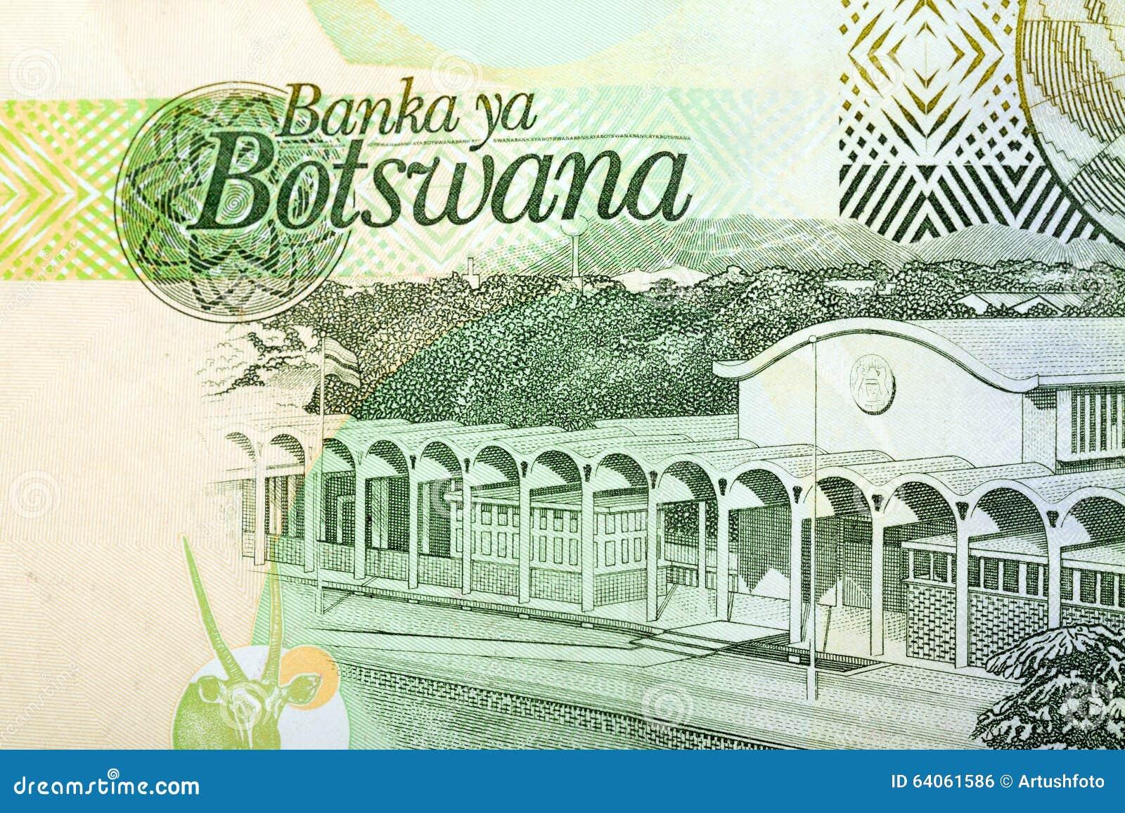 Detail Of 10 Botswana Pula Banknote Stock Photo - Image of