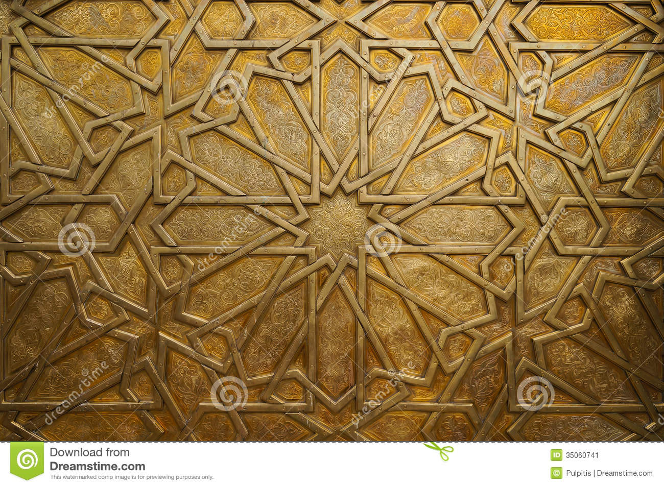 Detail of the brass door at the royal palace in Fez Morocco. I & Detail Of The Brass Door At The Royal Palace In Fez Morocco. I ... pezcame.com