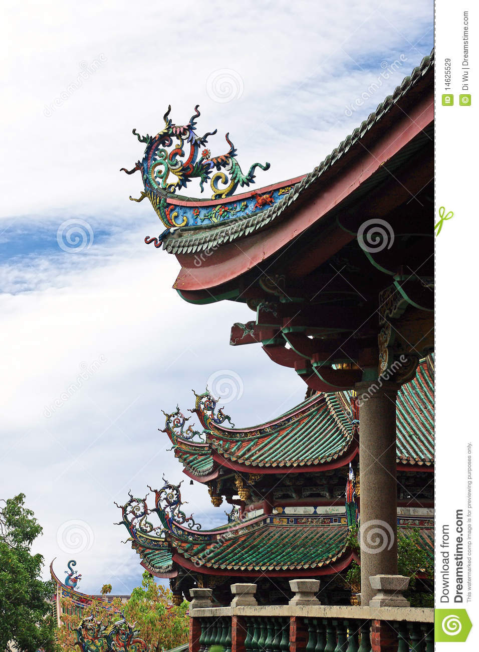 Detail about Chinese Pavilion