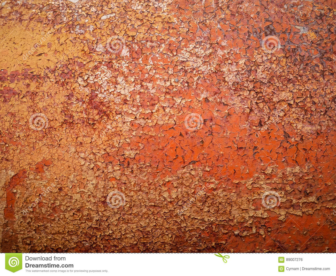 detail and close up of rust on car metal with cracking presence of rust and corrosion. Black Bedroom Furniture Sets. Home Design Ideas