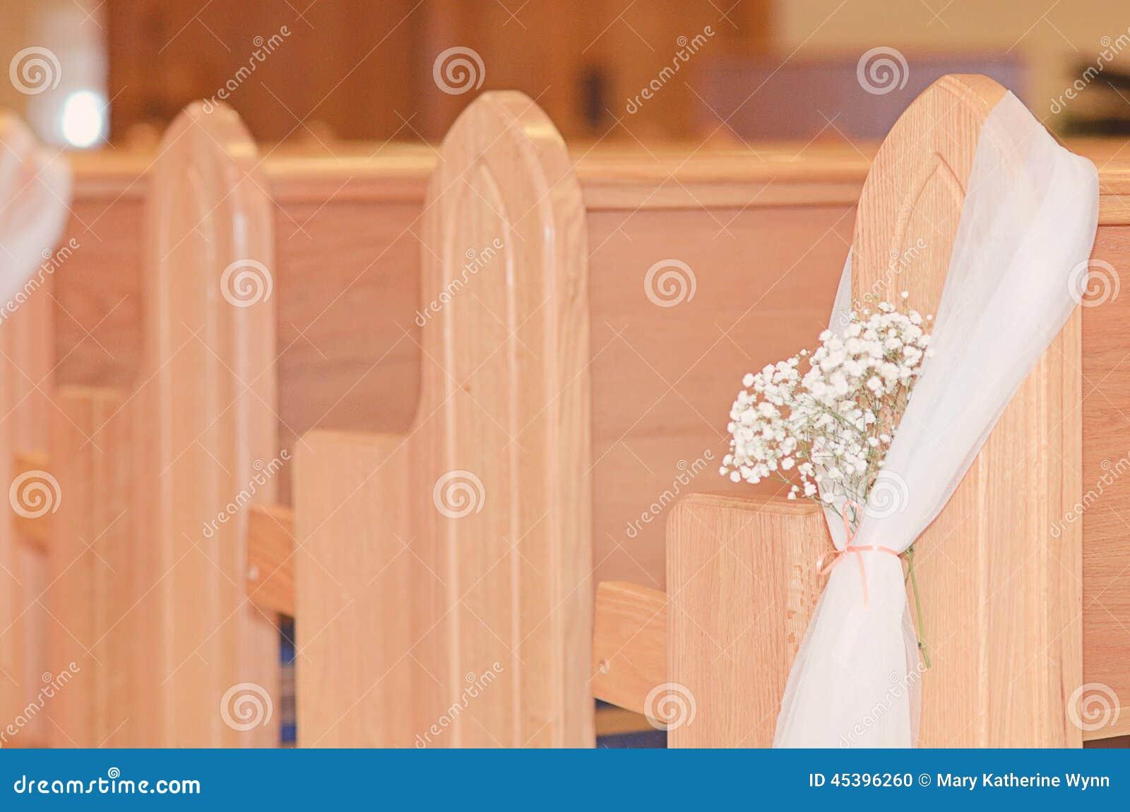 Detail der kirchlichen Hochzeit