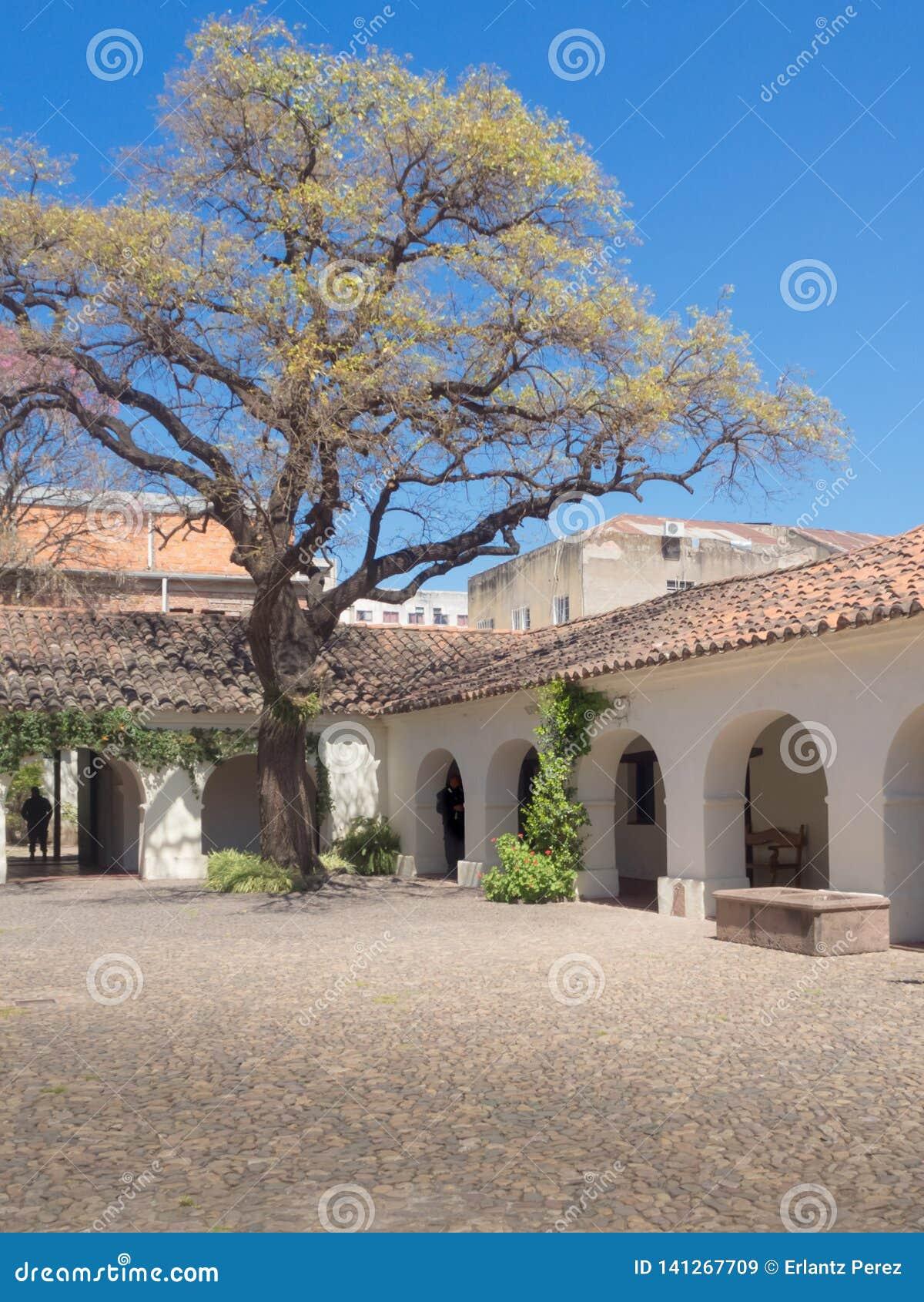 Detail des cabildo von Salta-Stadt in Argentinien