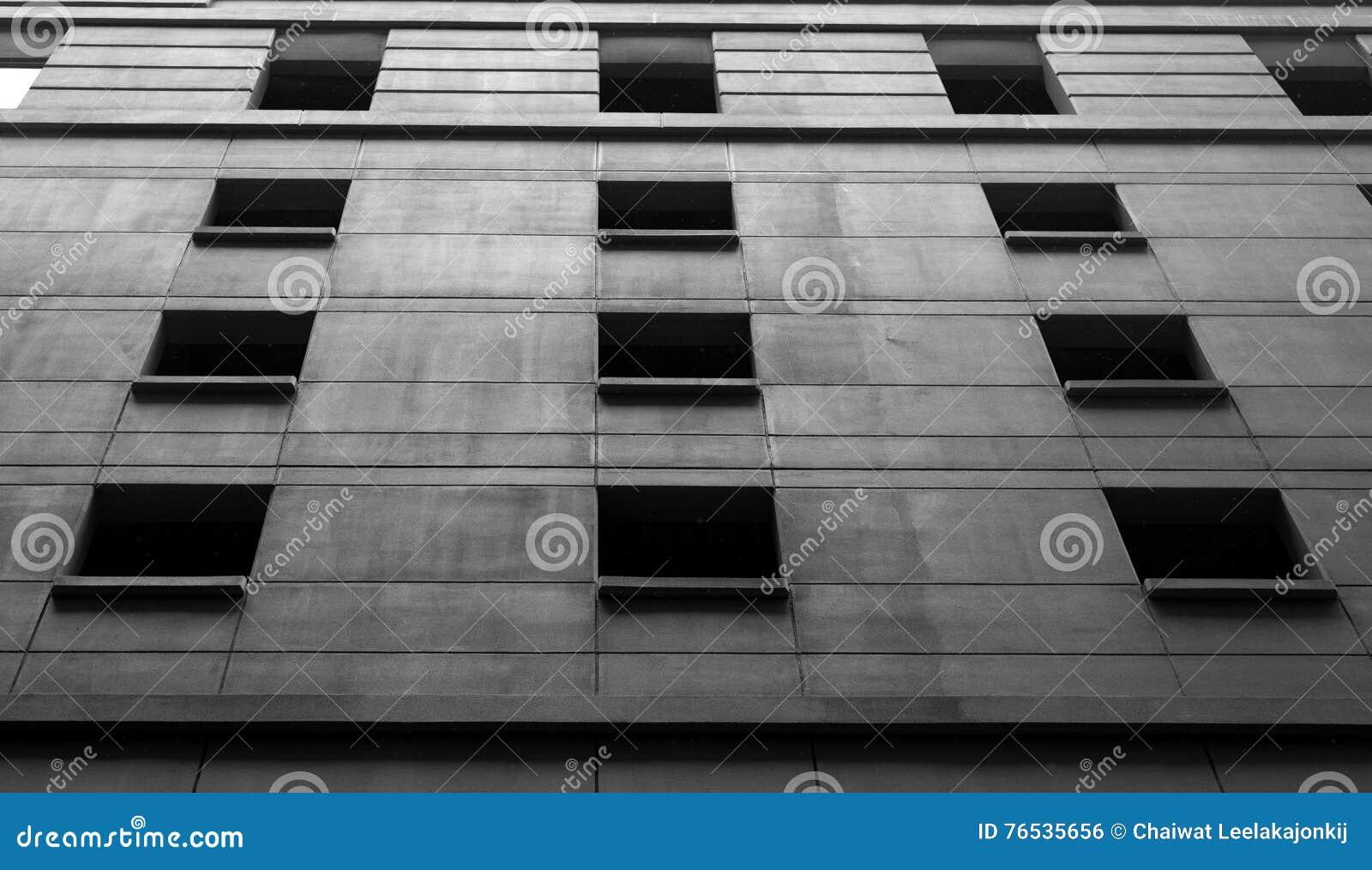Detail des modernen Gebäudes