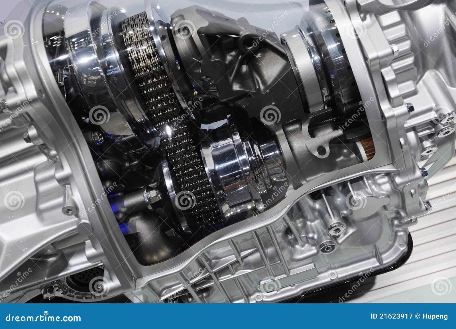 Detail einer Auto Übertragung